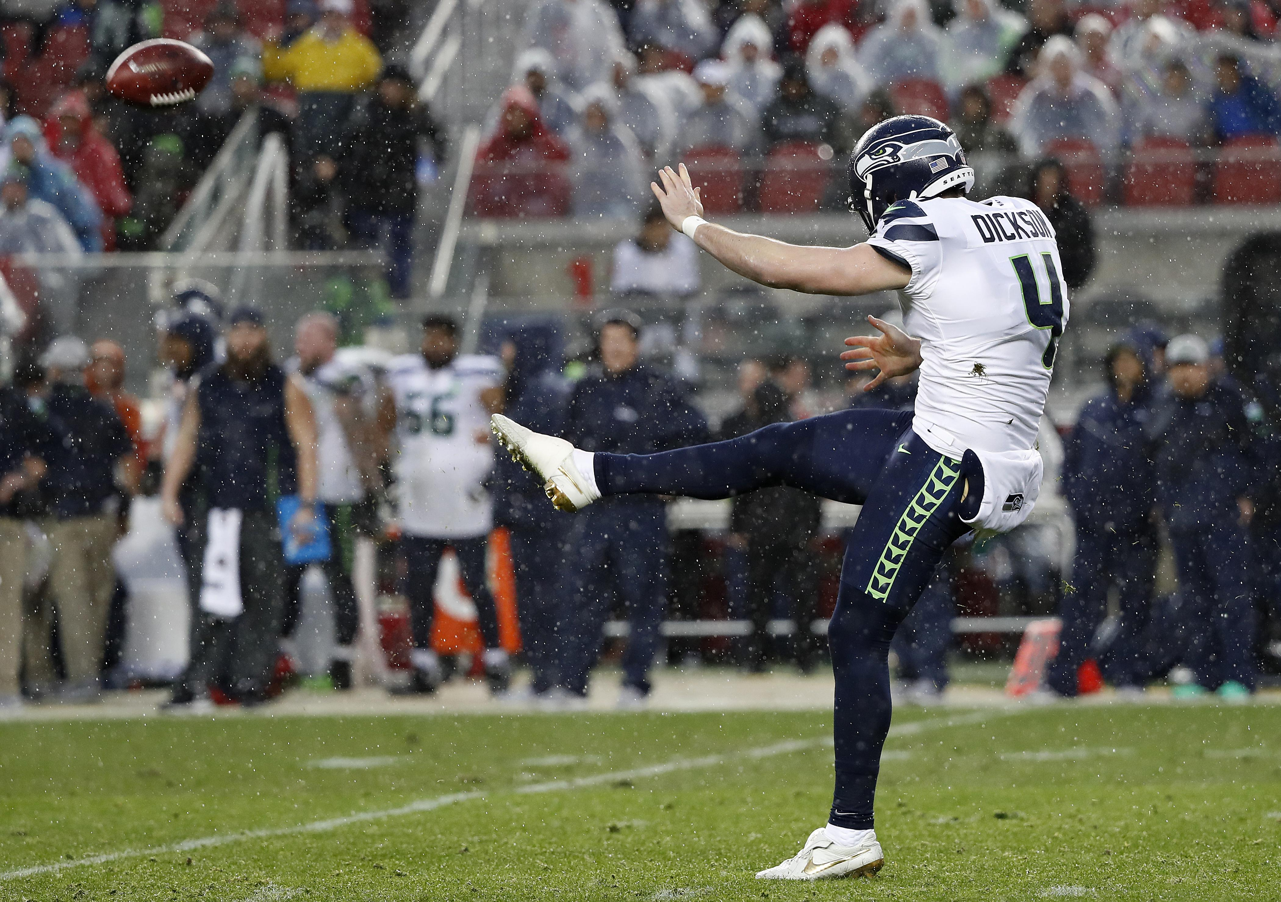 Why are you so good at punting?' If he knows, Seahawks
