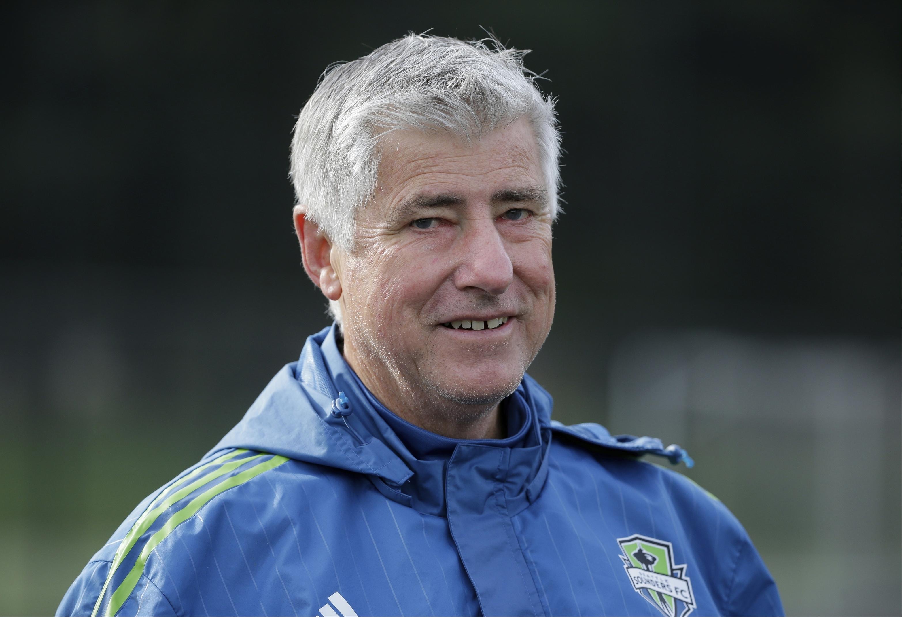 9918dc64e14 Former Seattle Sounders coach Sigi Schmid