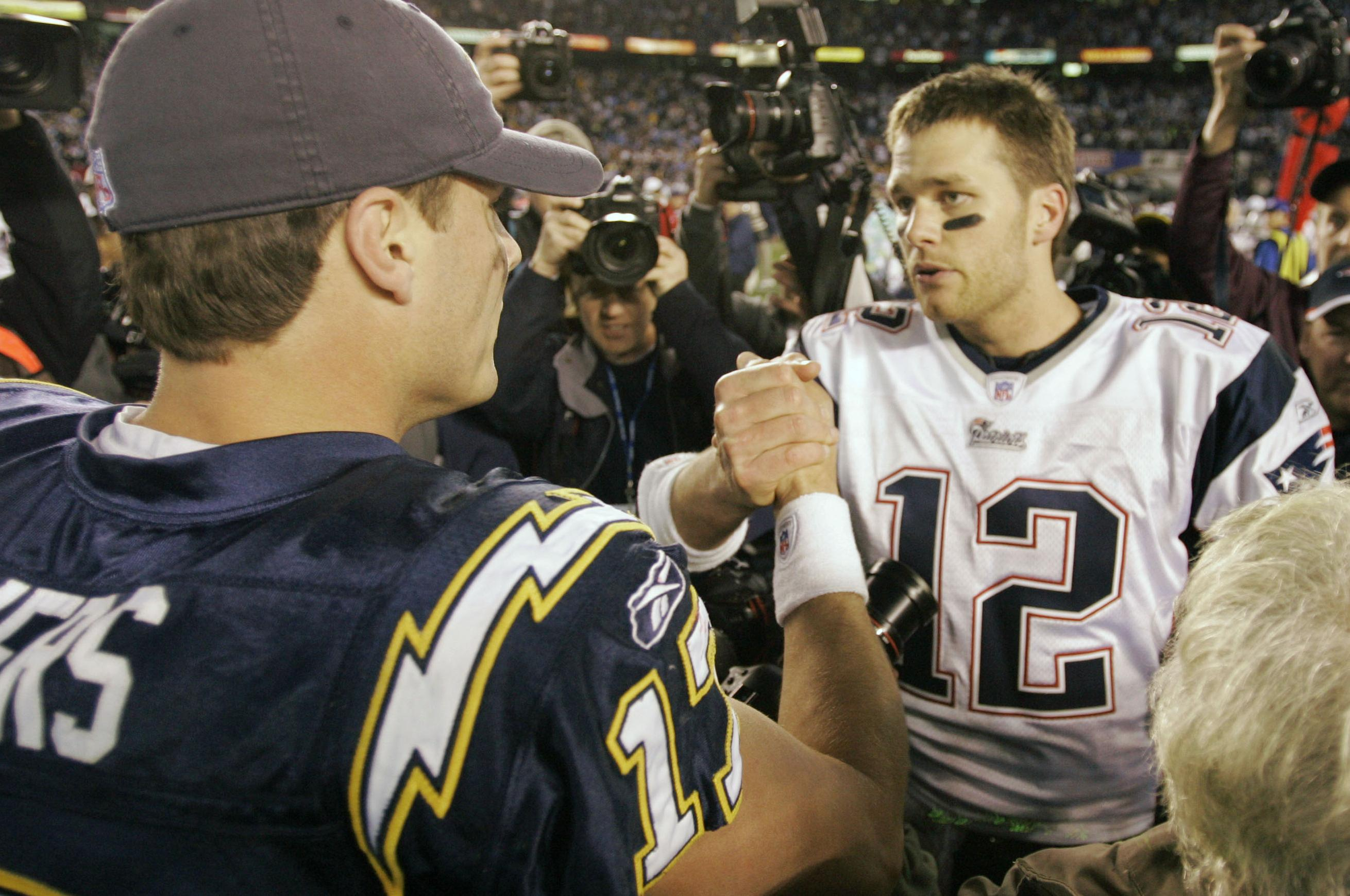 It s Philip Rivers versus Tom Brady in divisional round of NFL ... 56f2076bc