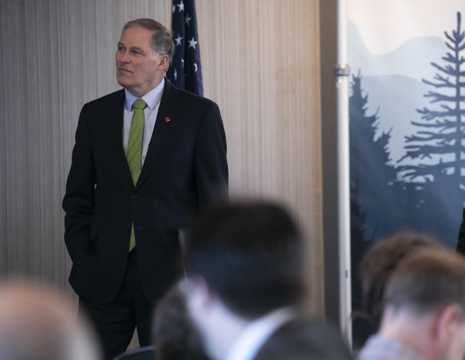 Gov  Inslee will travel to Nevada on Saturday as presidential