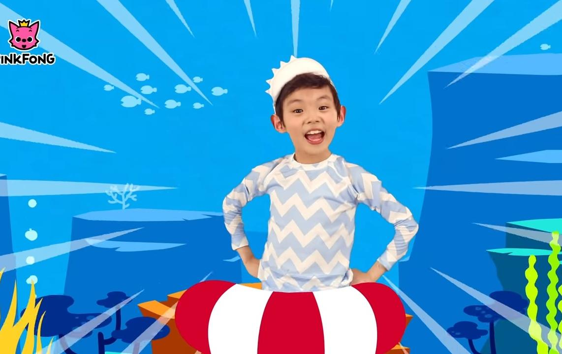 the baby shark video which has amassed more than 21 billion views on