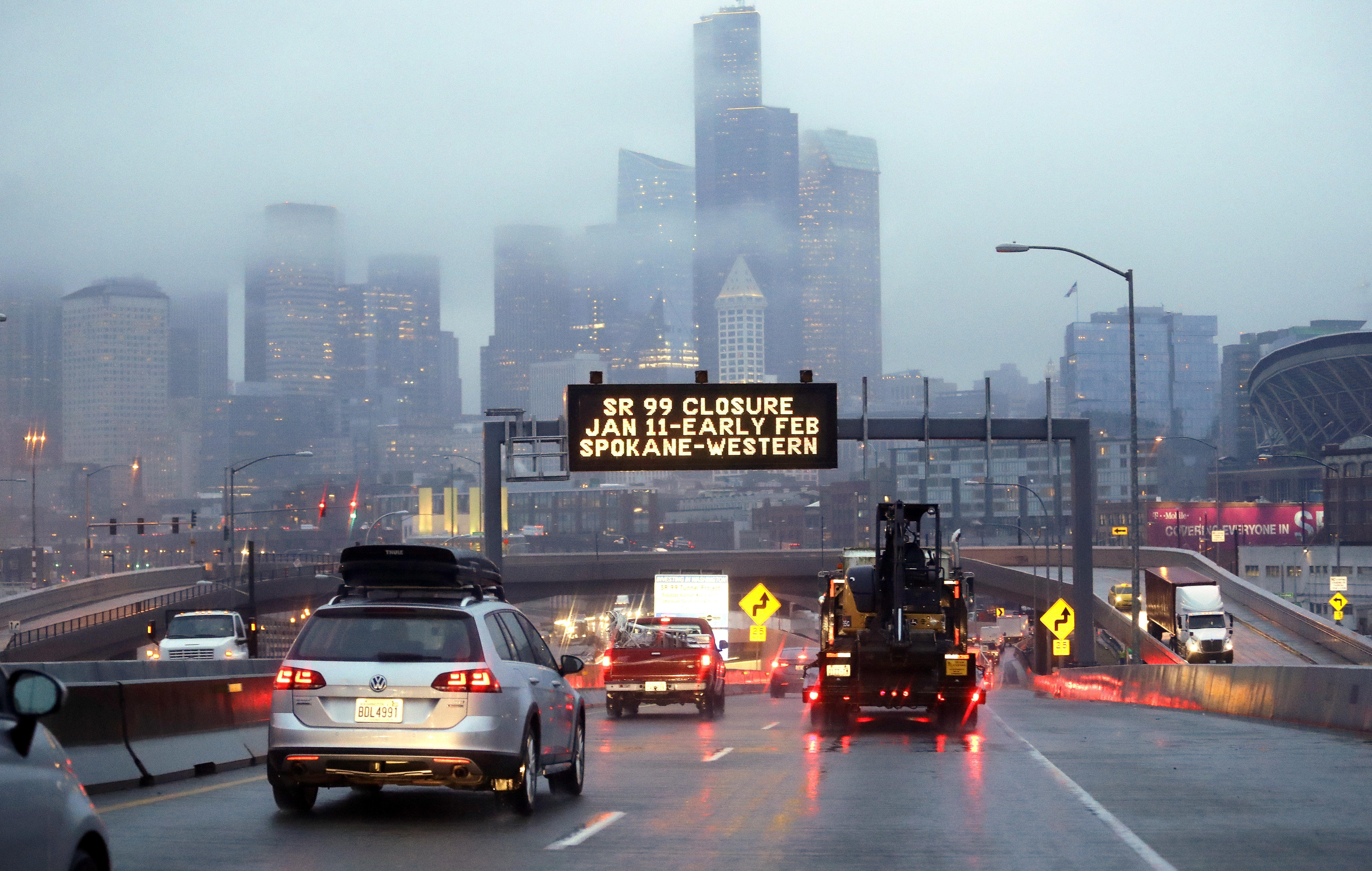 Seattle braces for highway closure, historic traffic squeeze | The