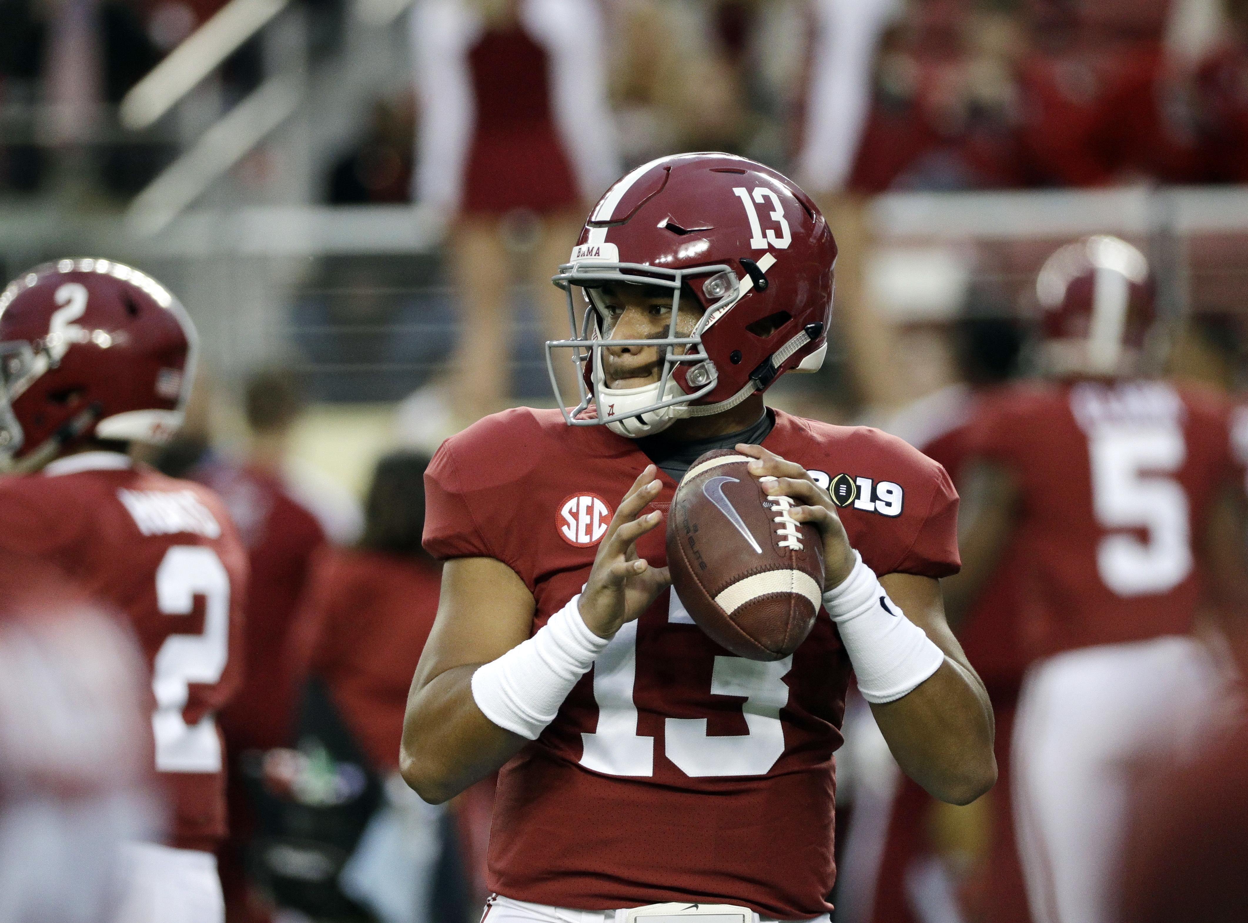 Alabama Clemson Lead Too Early 2019 Top 25 College Football