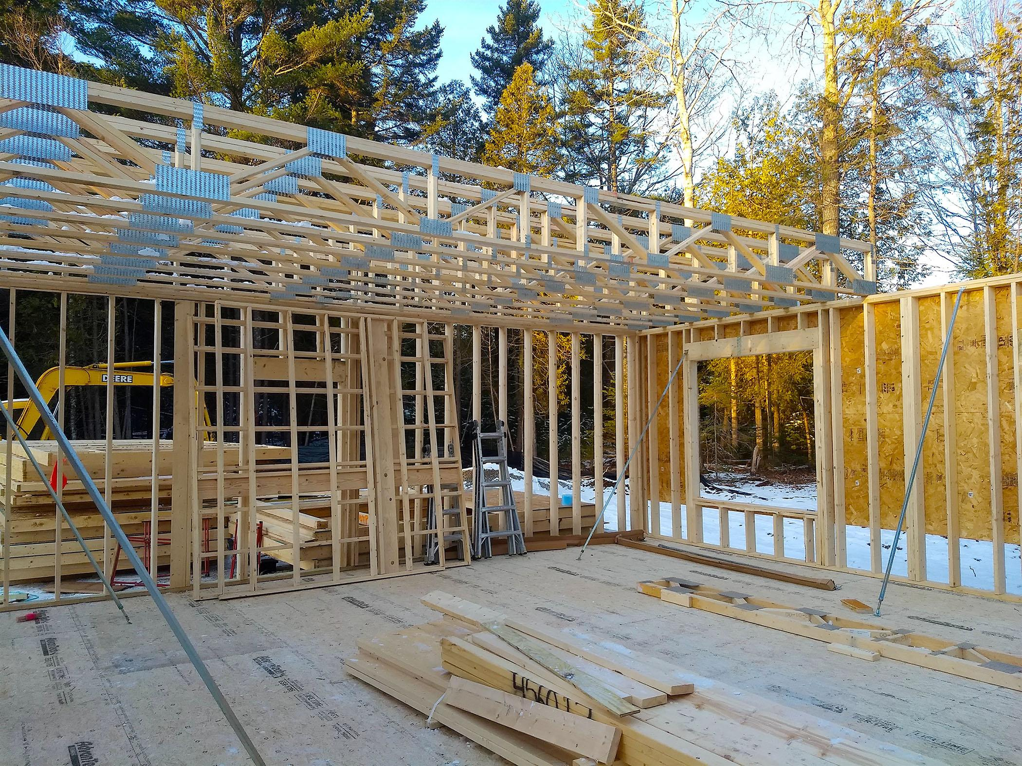 Ask The Builder New Trusses Let You Dispense With