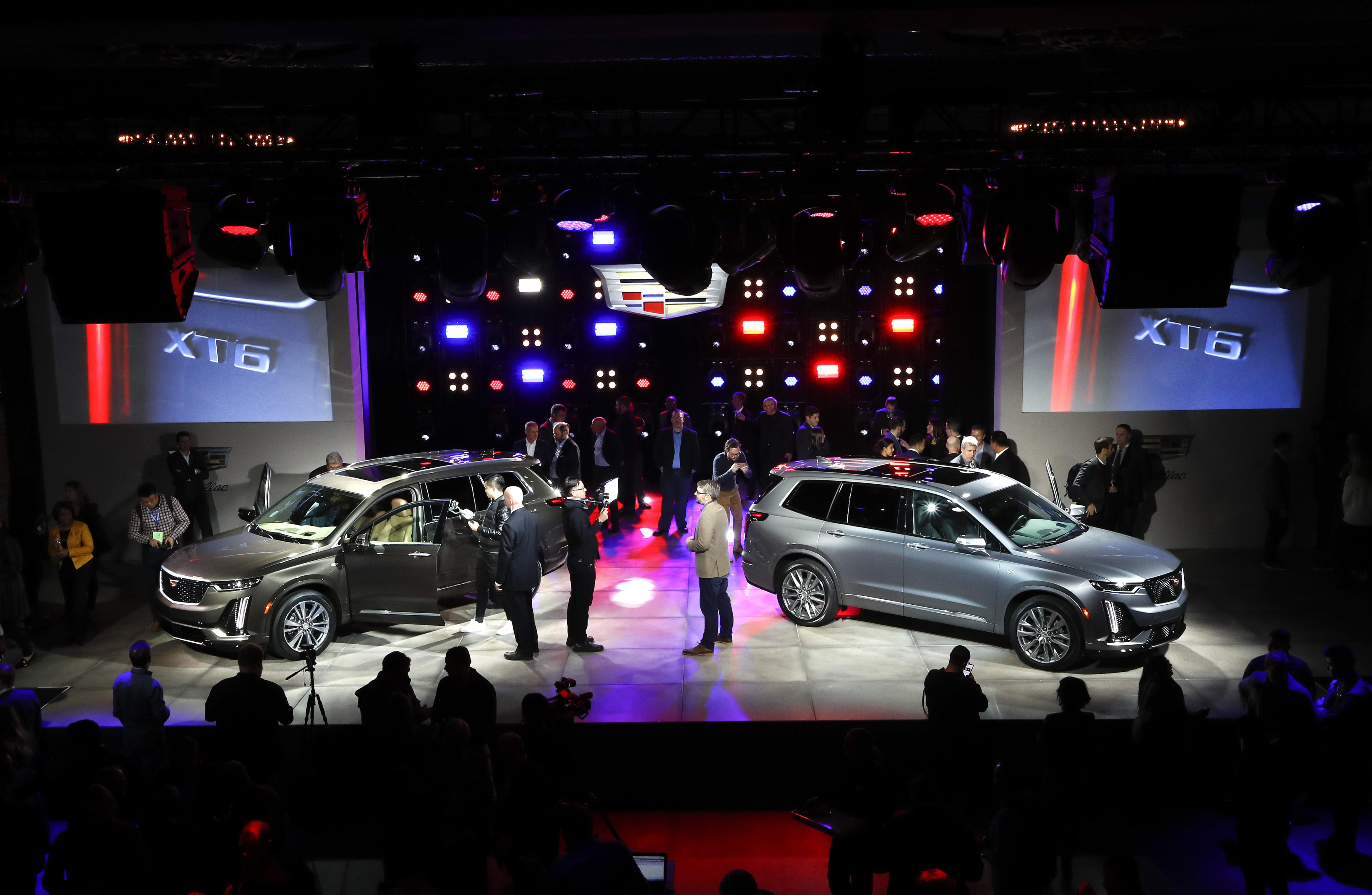 Ford And Cadillac Suvs Toyota Sports Car Star At Detroit Auto Show