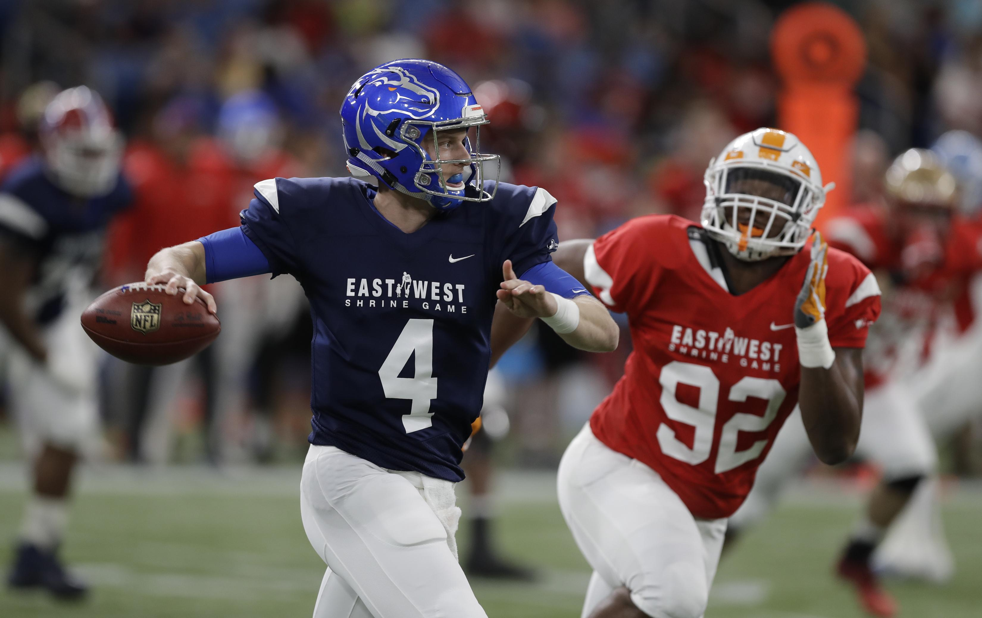 get cheap c651b 3218e Brett Rypien helps West beat East 21-17 in Shrine Game | The ...
