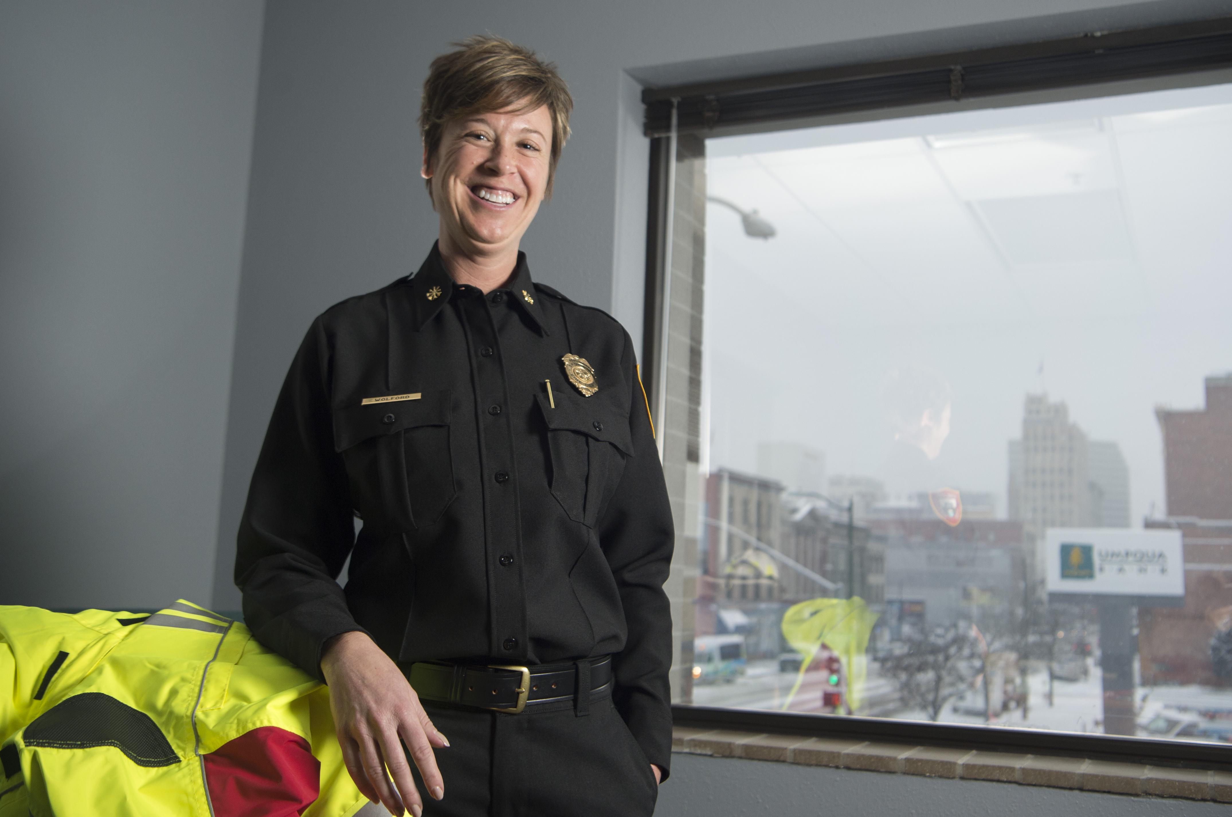 Spokane Assistant Fire Chief Trisha Wolford leaving to lead