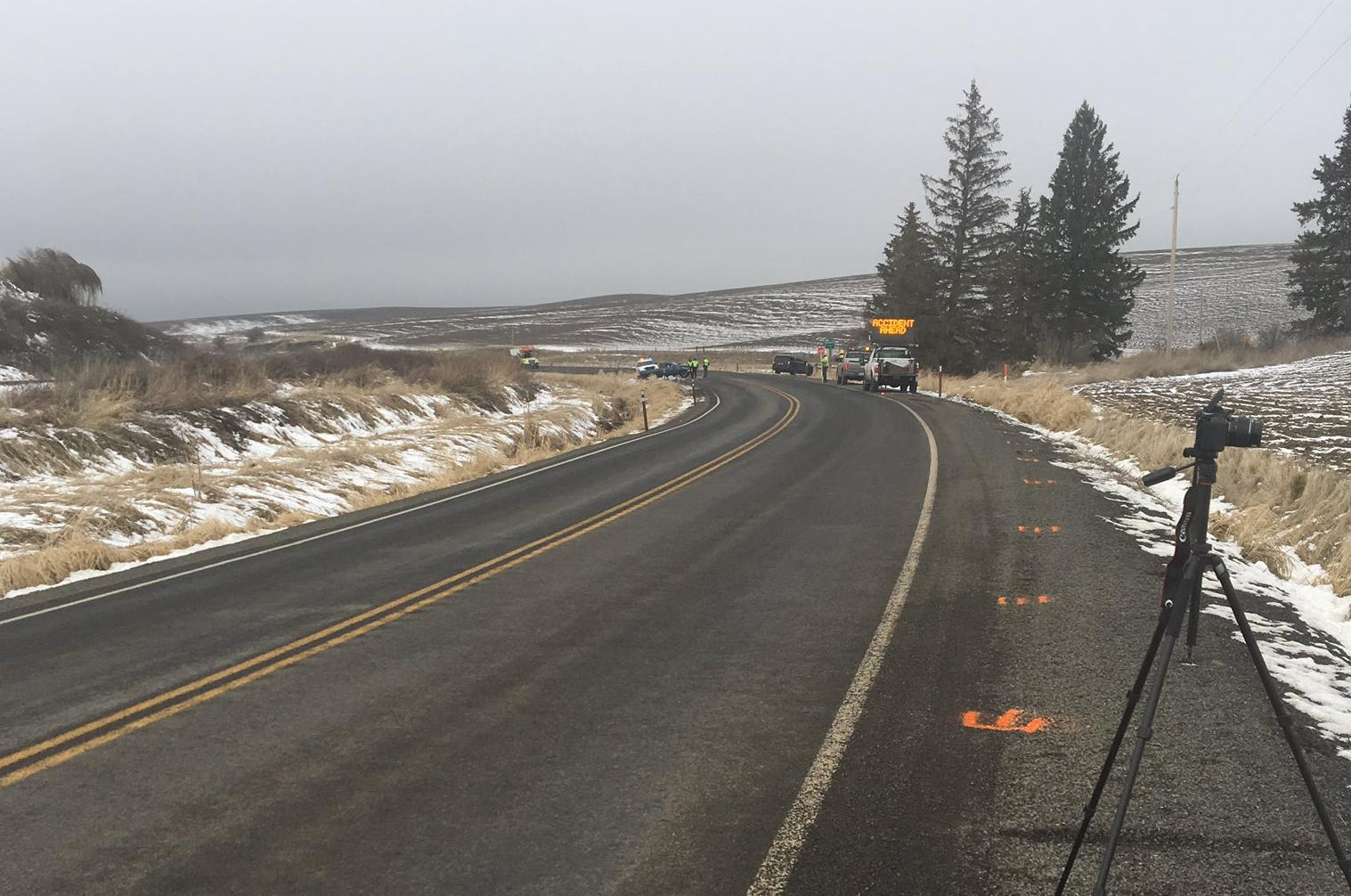 WSP investigates two fatal crashes south of Spokane on Friday | The