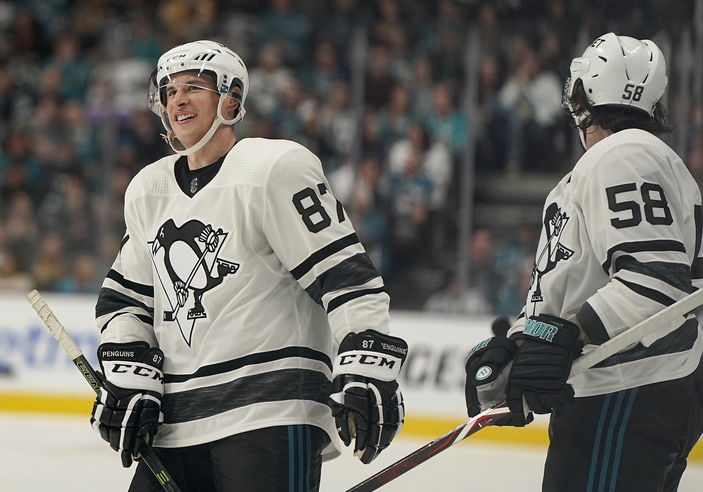 Sidney Crosby Henrik Lundqvist Lead Metropolitan Team To Nhl All