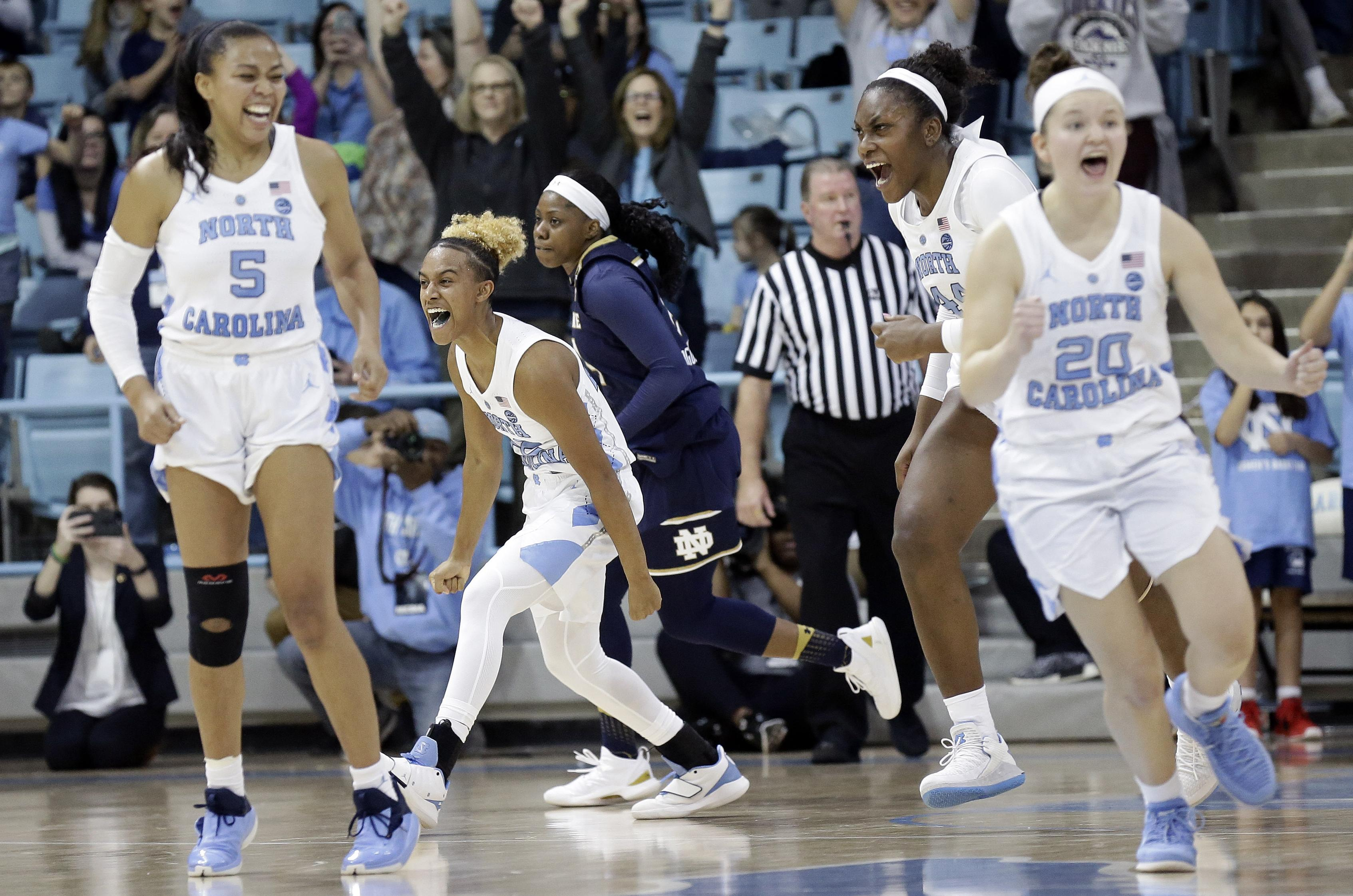 Women's Top 25 capsules: Paris lights it up for North Carolina as No