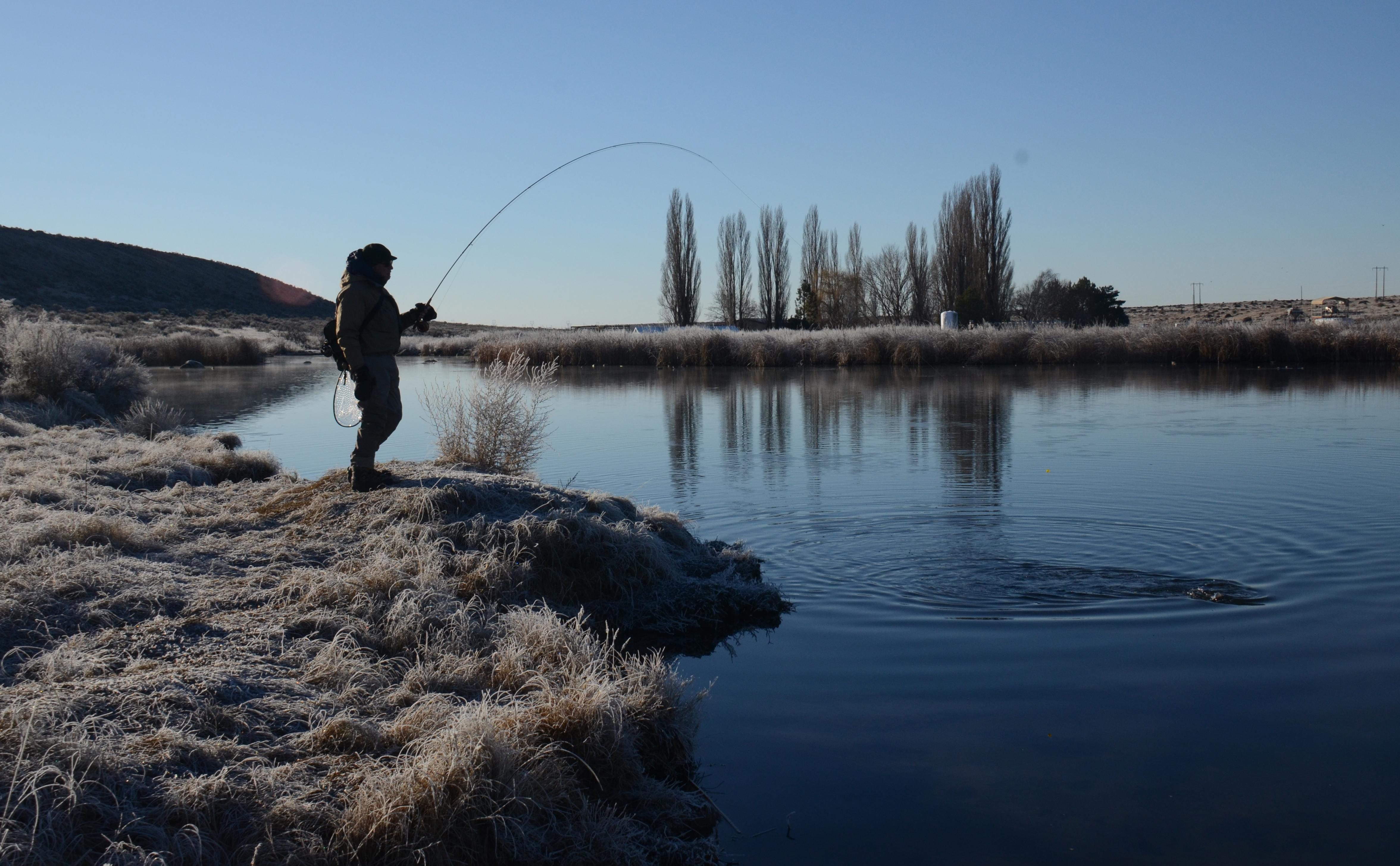 Anglers thrill in the chill of winter fishing   The Spokesman-Review