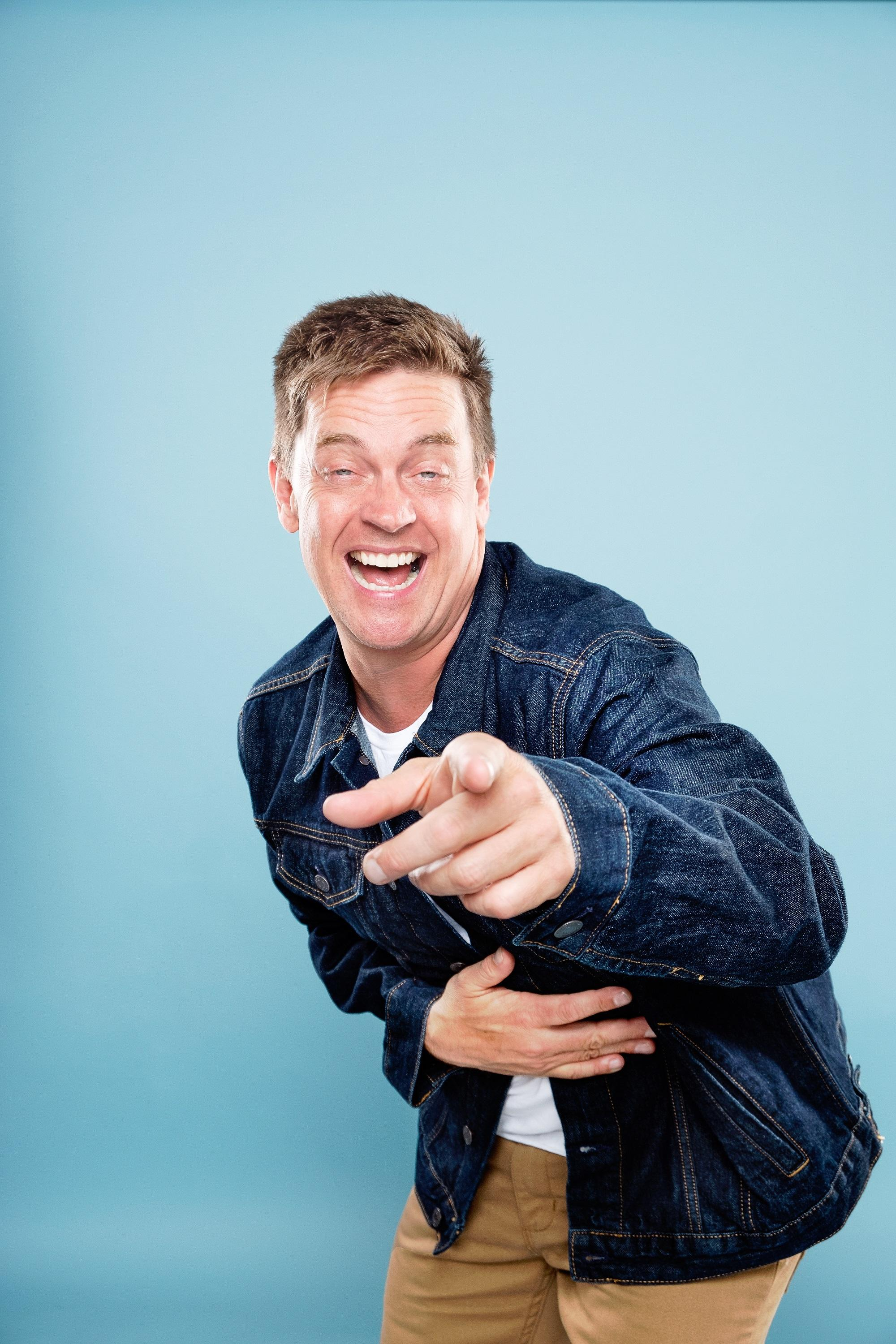 jim breuer aims to be �inspiringly funny� in his comedy