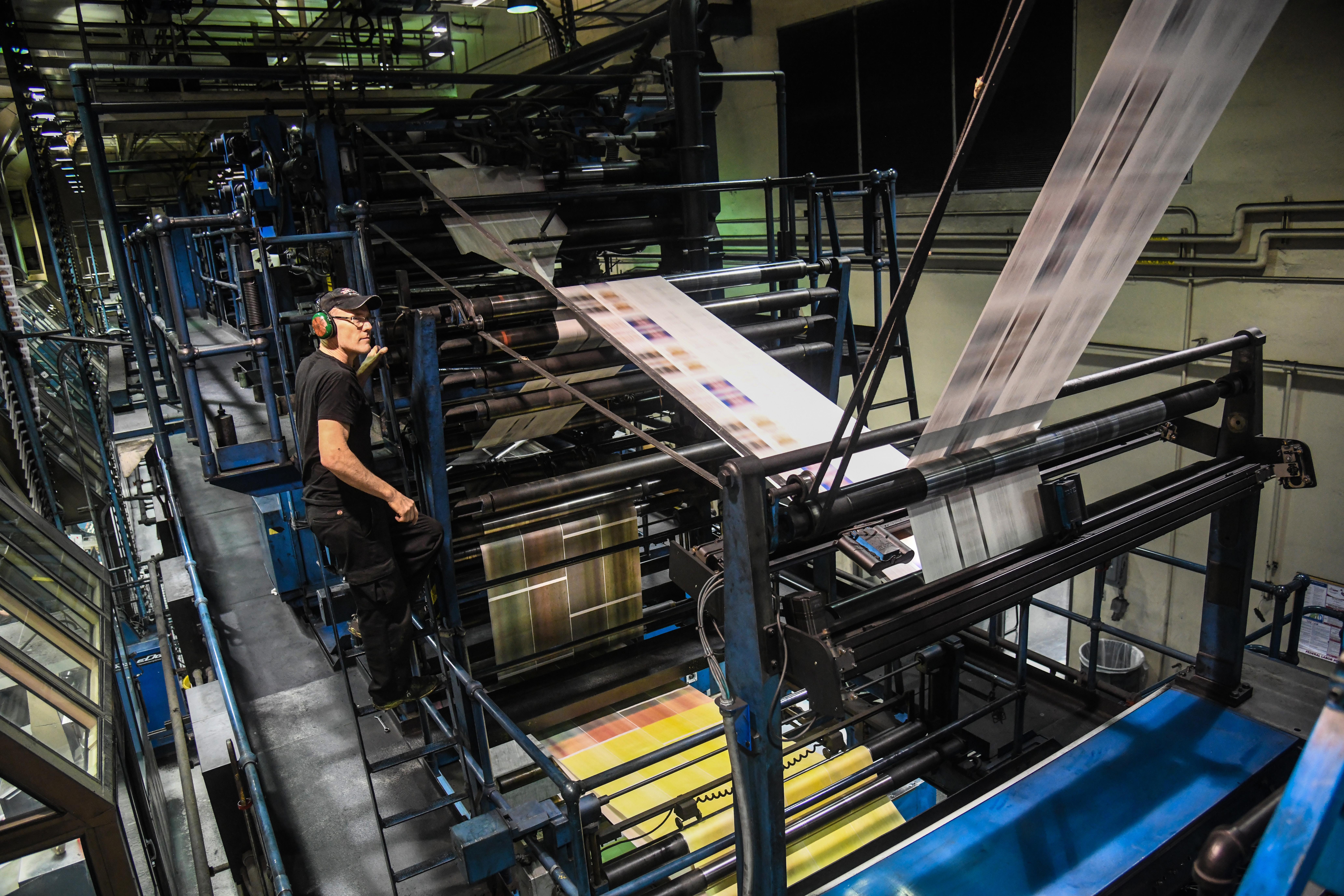 press operator job description