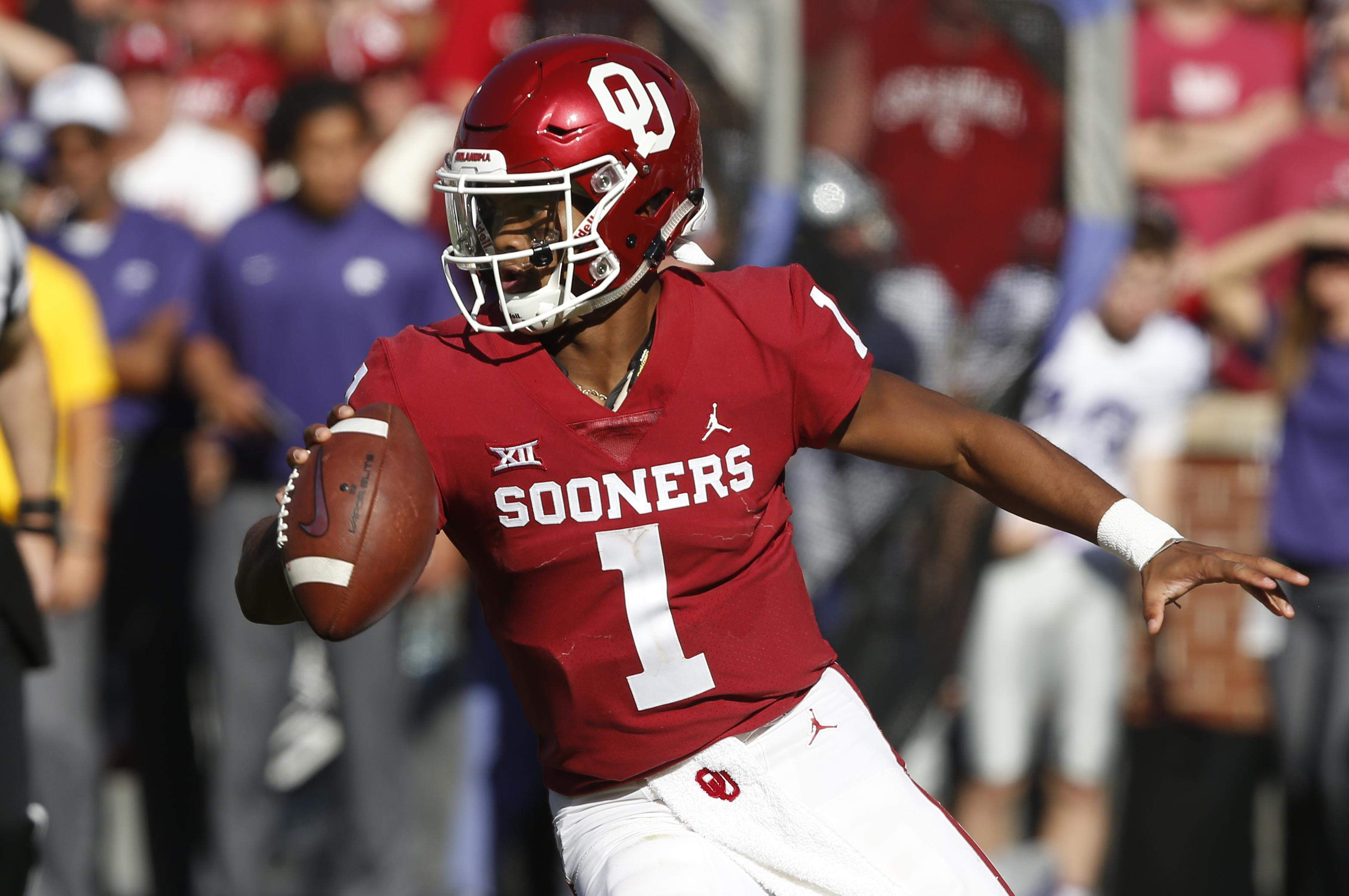 huge discount d474a a28d2 Kyler Murray chooses NFL over baseball and A's | The ...