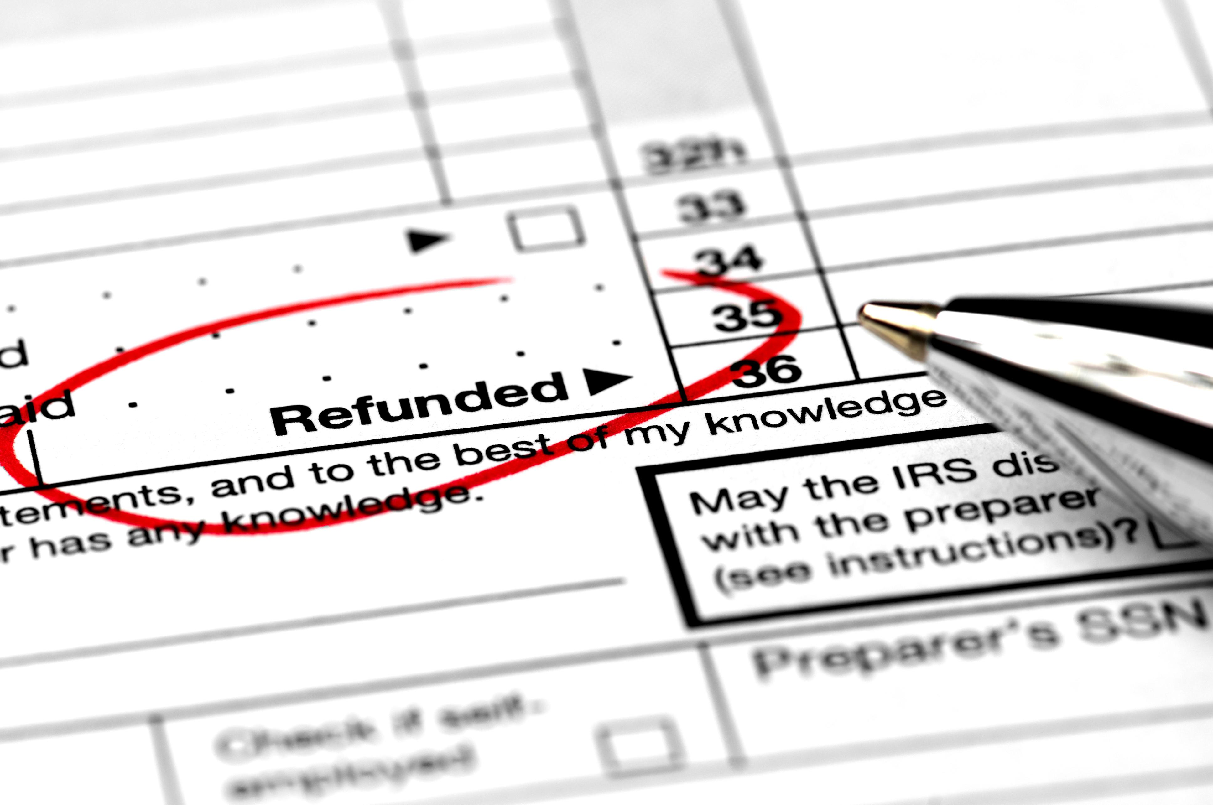Your federal tax refund only a pittance? You're not alone  Here's