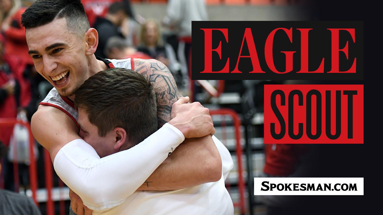 EWU guard Jacob Davison as proud of his Eagle Scout status as he is