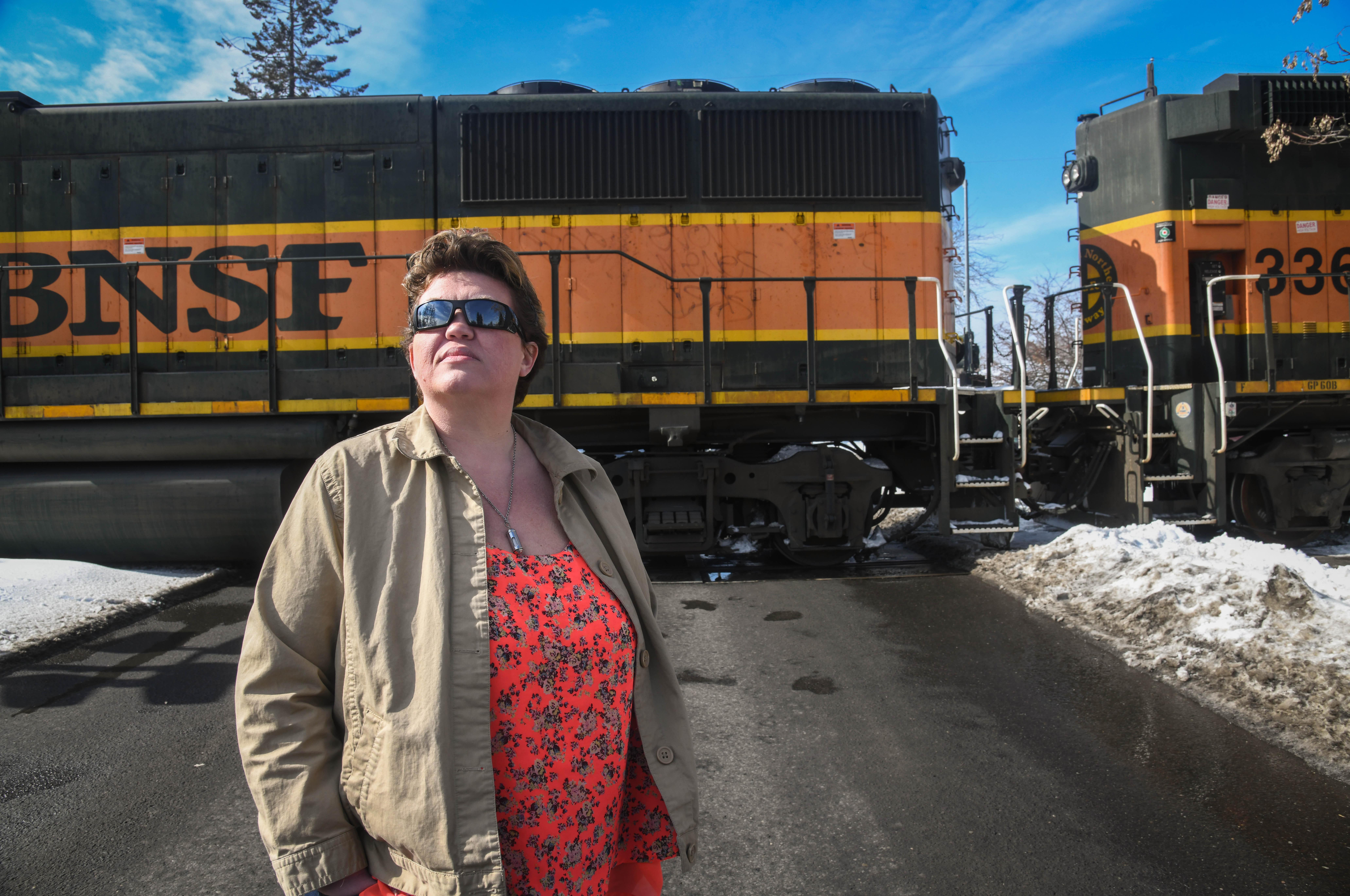 Man survives being hit by train on Mission Avenue | The