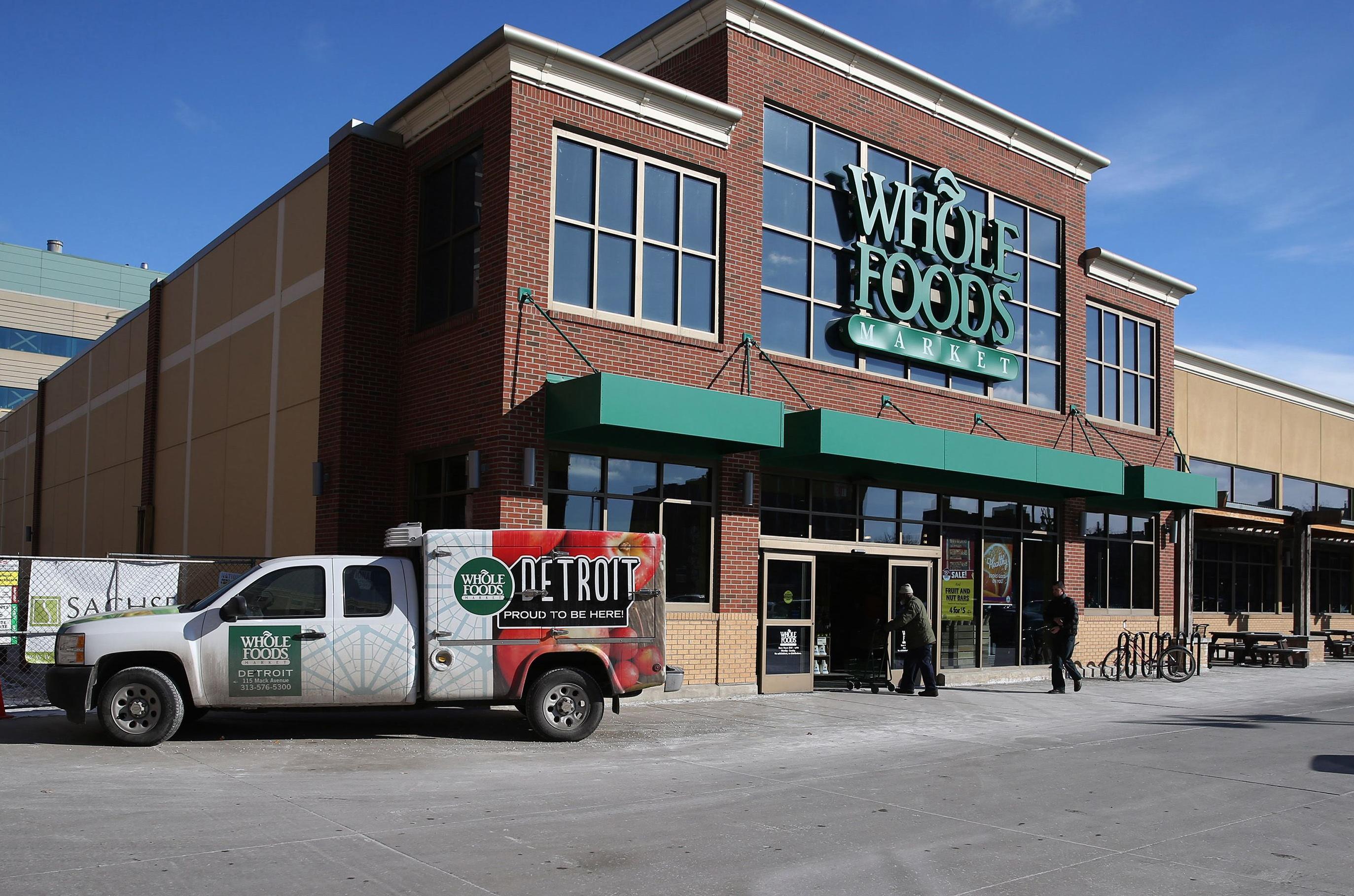 75ce47e7c22a A Whole Foods Market in Detroit. Amazon.com Inc. plans to open dozens