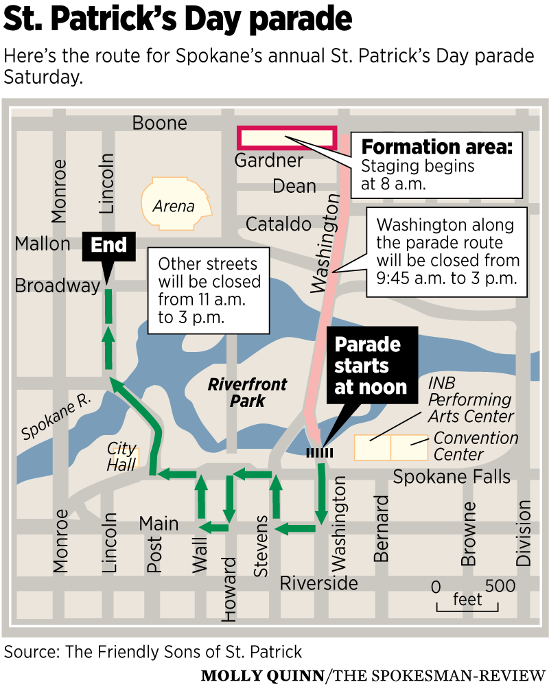 a7003c2a8 Parades, green beer and music: Celebrating St. Patrick's Day in the Inland  Northwest