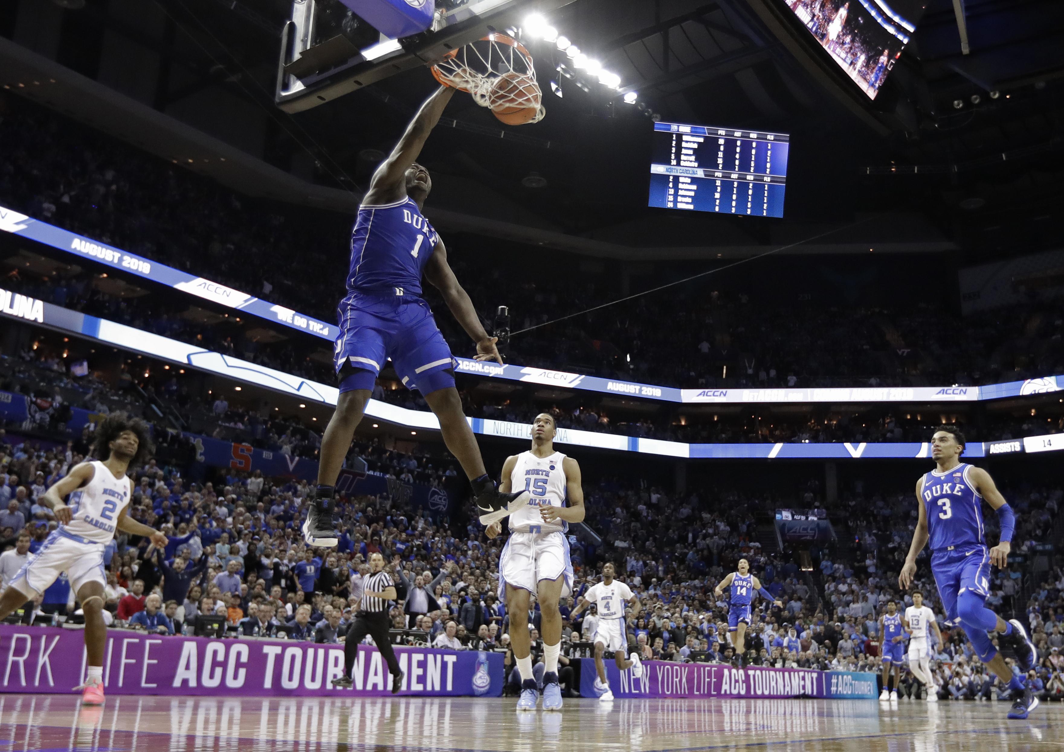 Top 25 roundup: No  5 Duke beats No  3 North Carolina in ACC