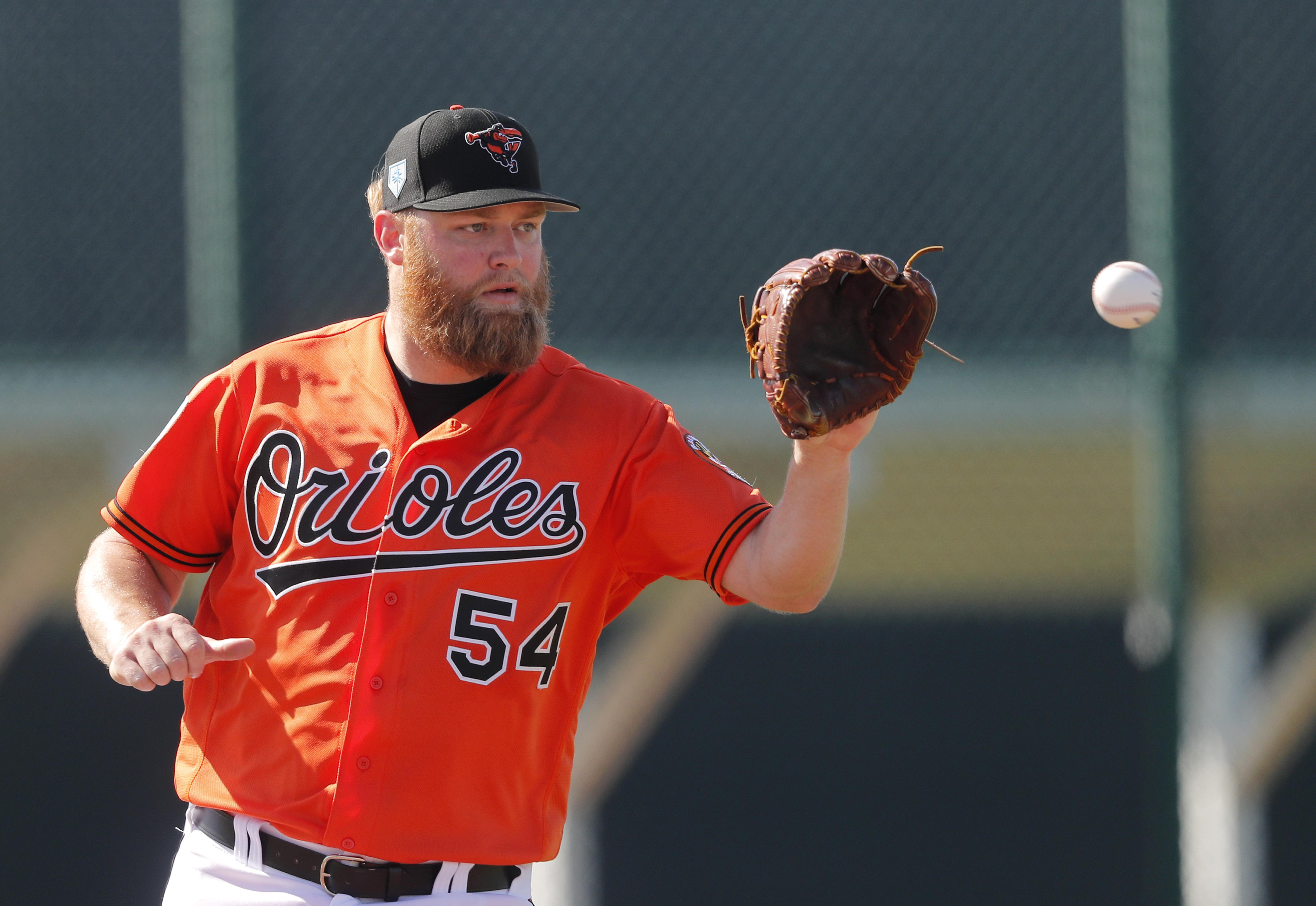 9f0661c71 Andrew Cashner subs for injured Alex Cobb as Orioles opening day ...
