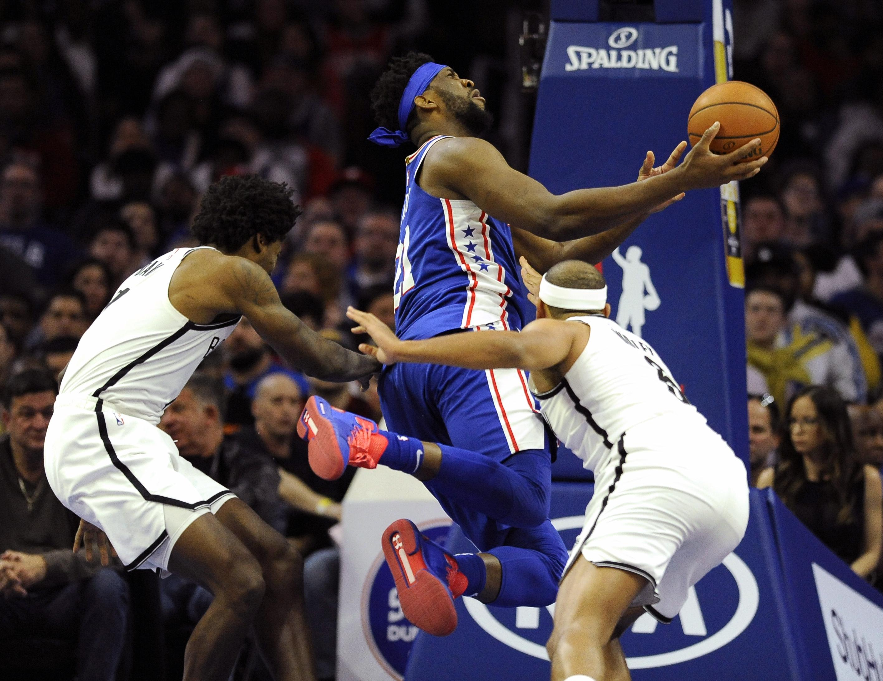 645968e0b NBA roundup  Joel Embiid has 39 points
