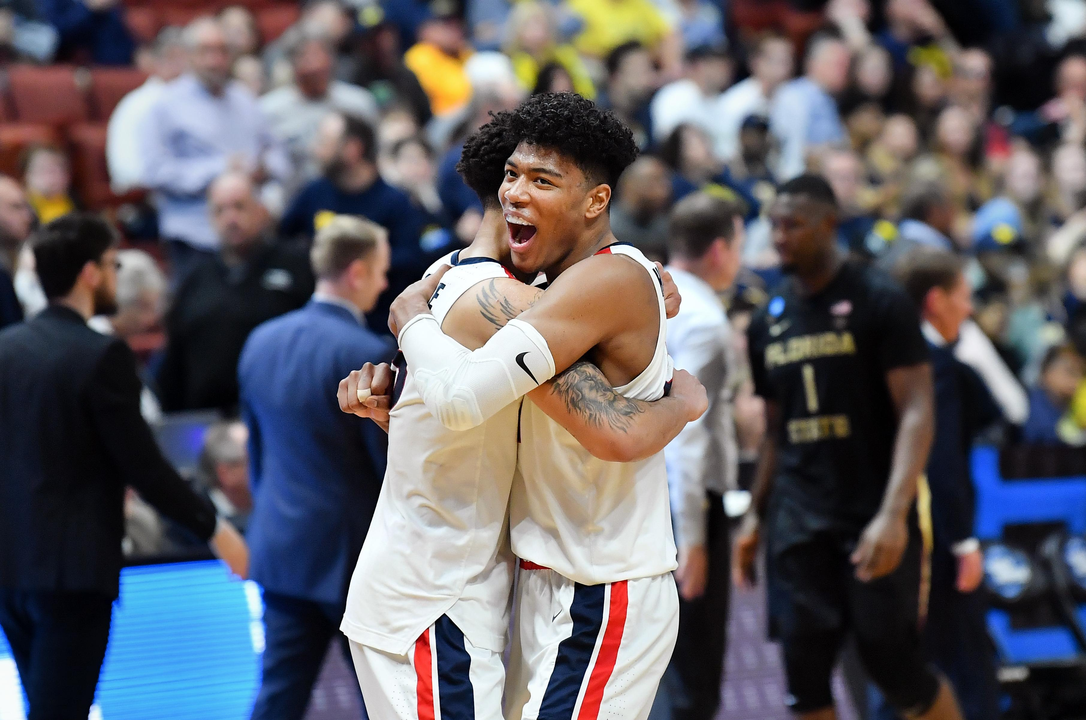 finest selection 690c4 e0825 Analysis  Gonzaga turns tables on Florida State, advances to Elite Eight  with 72-58 victory