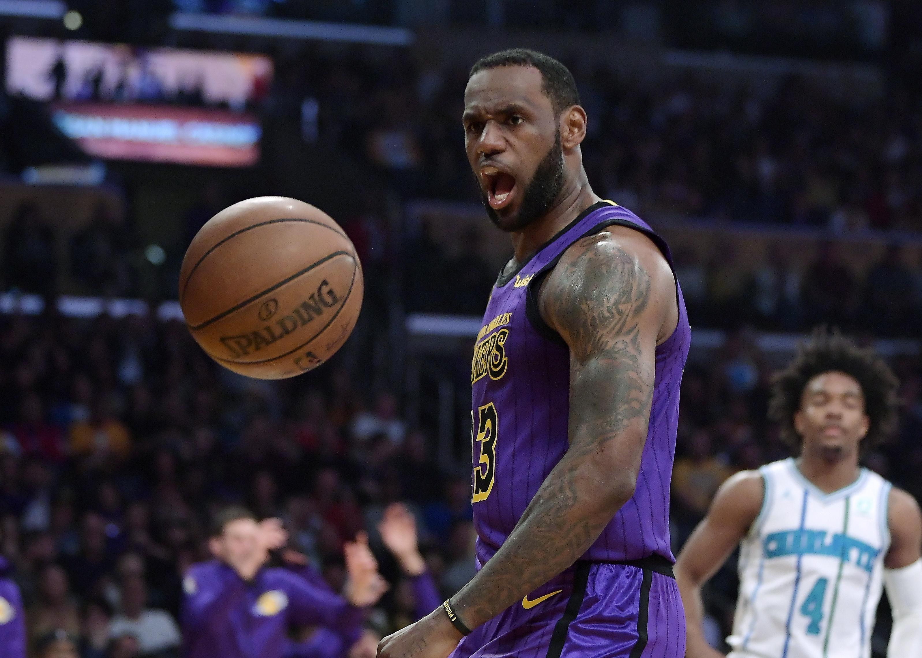 f226e0779c41 Los Angeles Lakers forward LeBron James won t play anymore this season. The  Lakers