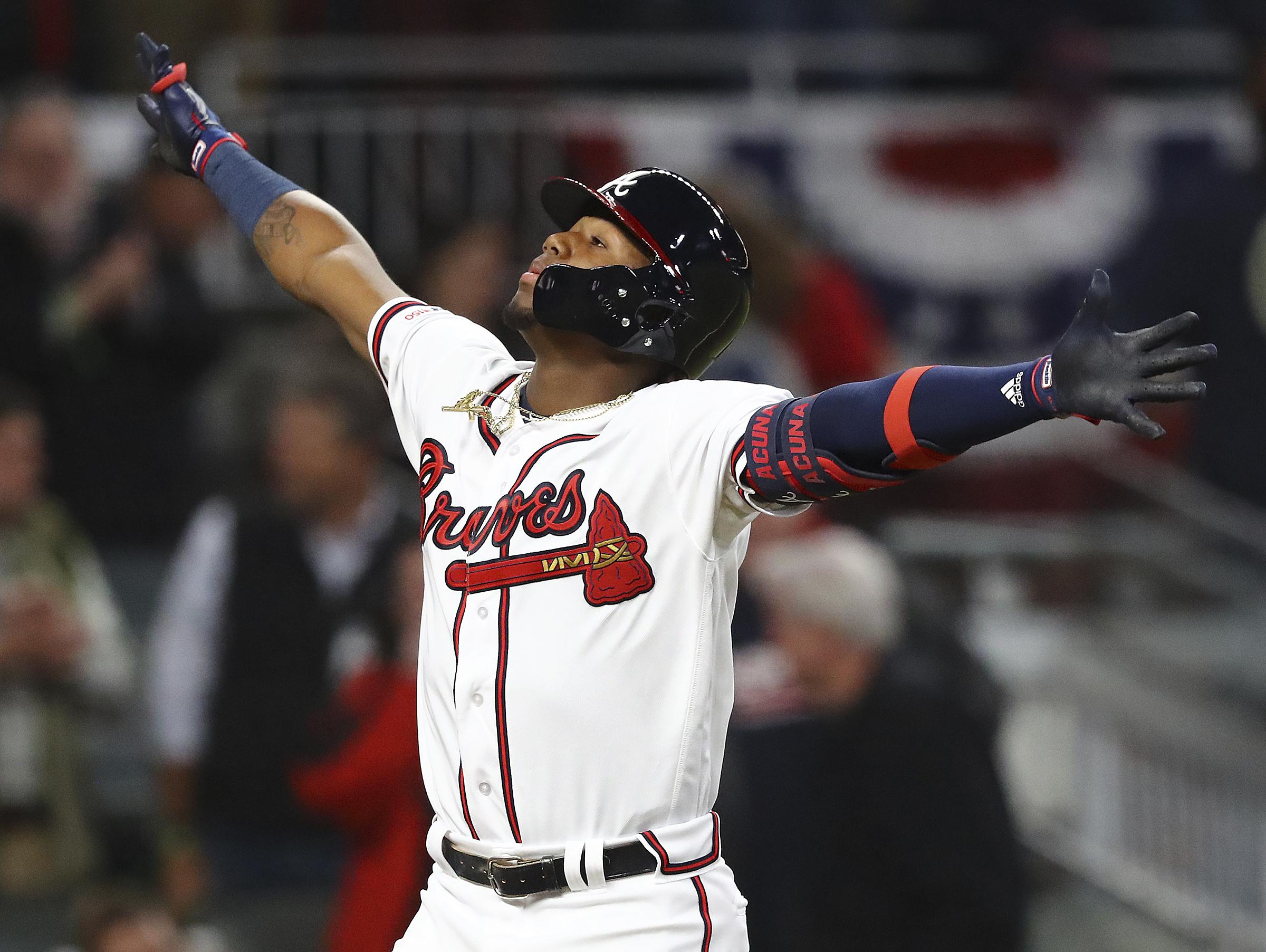 Ronald Acuna Jr , Braves agree to $100M, 8-year contract   The