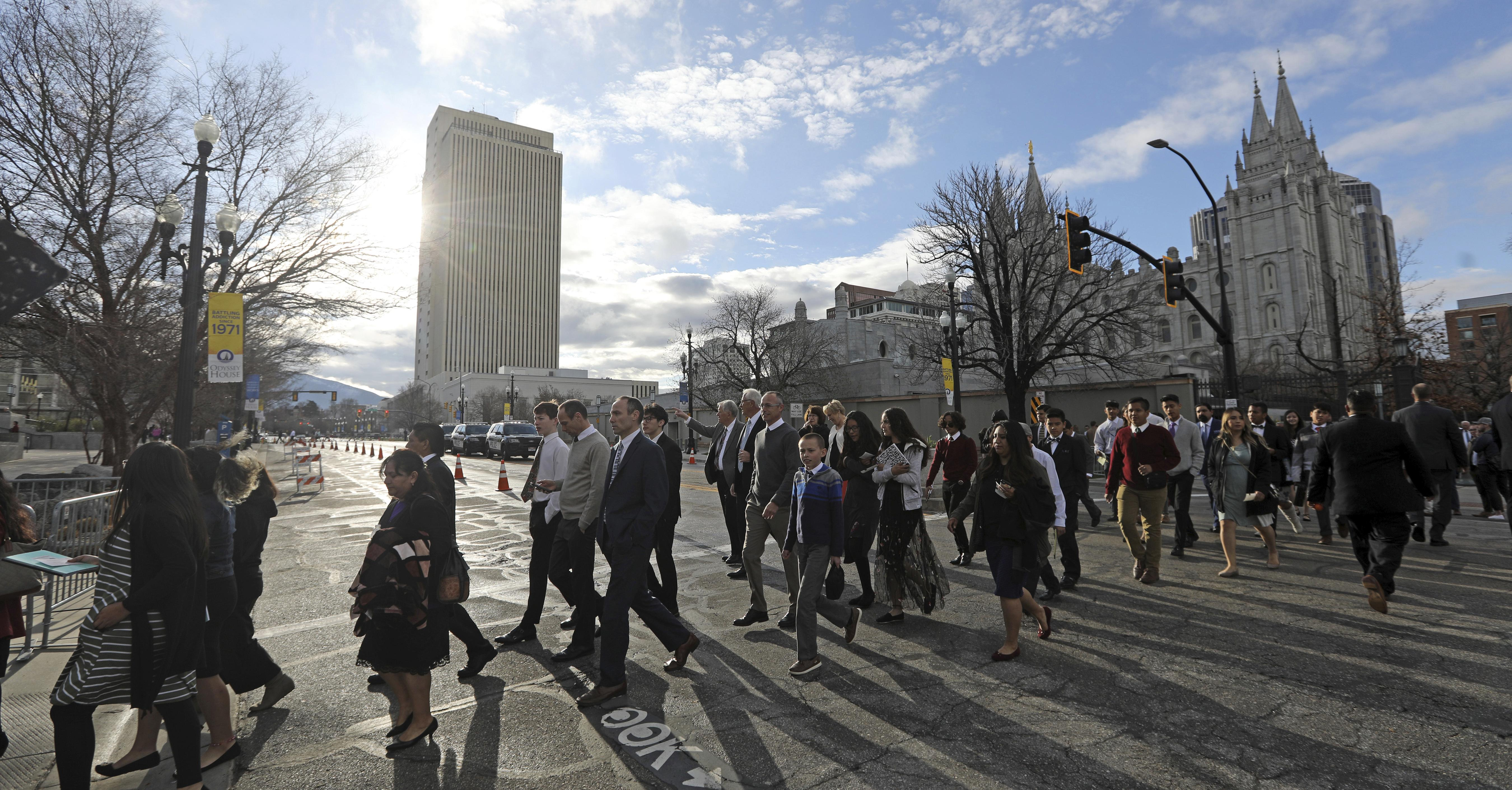 Mormons leader warns of 'rampant immorality' at conference | The