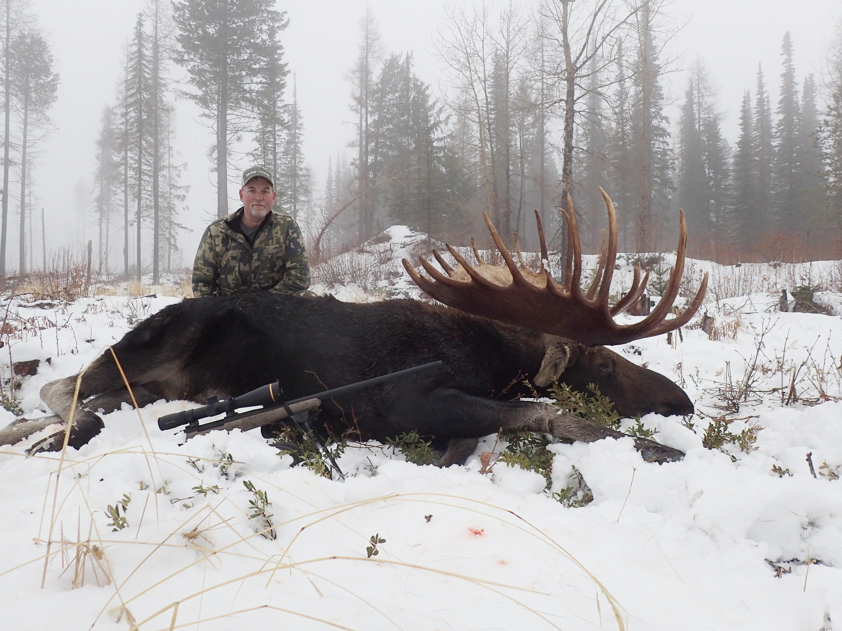Washington hunter bags world-record moose in Ferry County