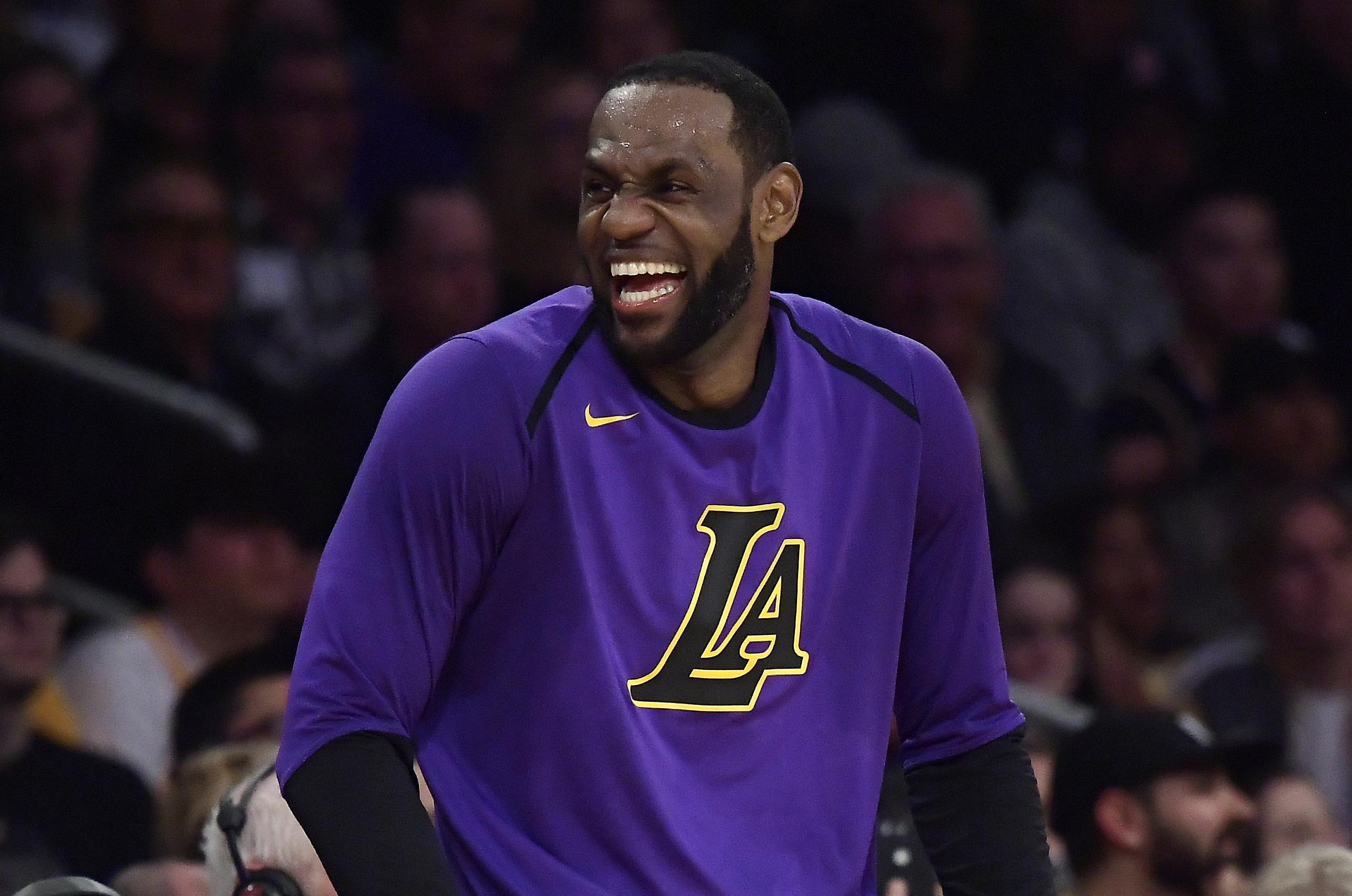 d45f6b282f6f Los Angeles Lakers forward LeBron James will fail to make the NBA Finals  for the first