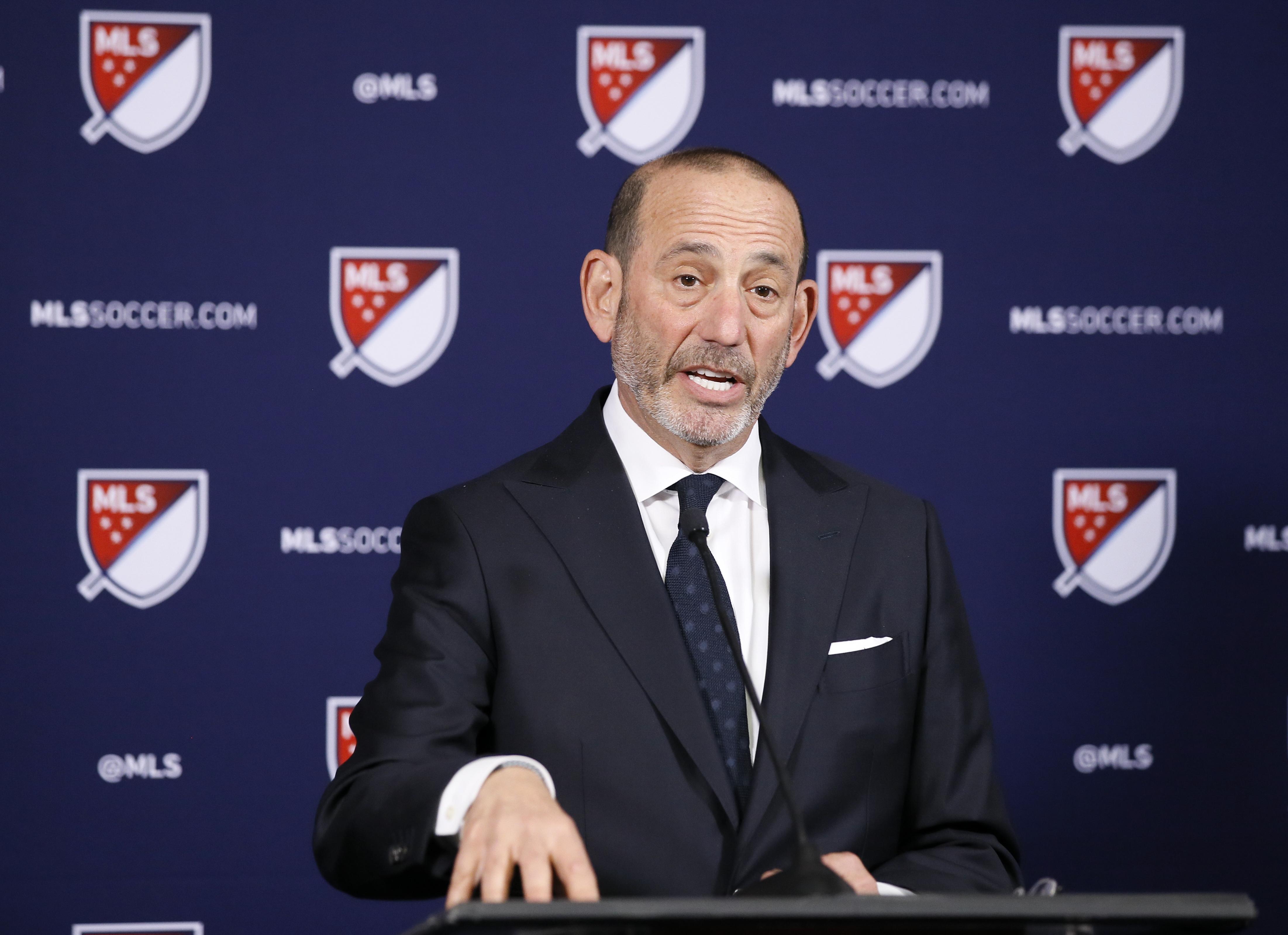 Résultats de recherche d'images pour «transfert MLS don garber»
