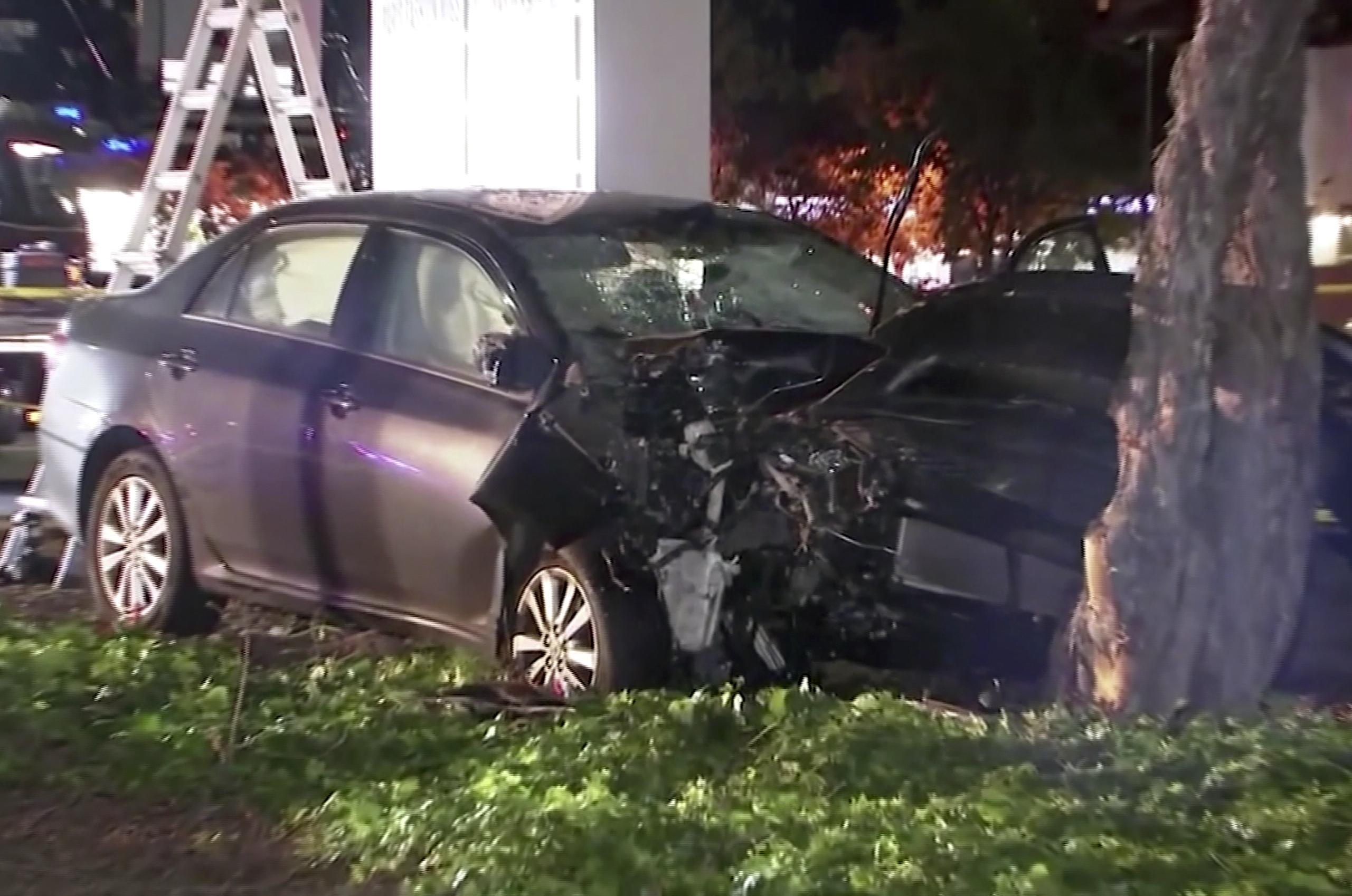 8194f0b90ce918 Police  Motorist said he drove into people