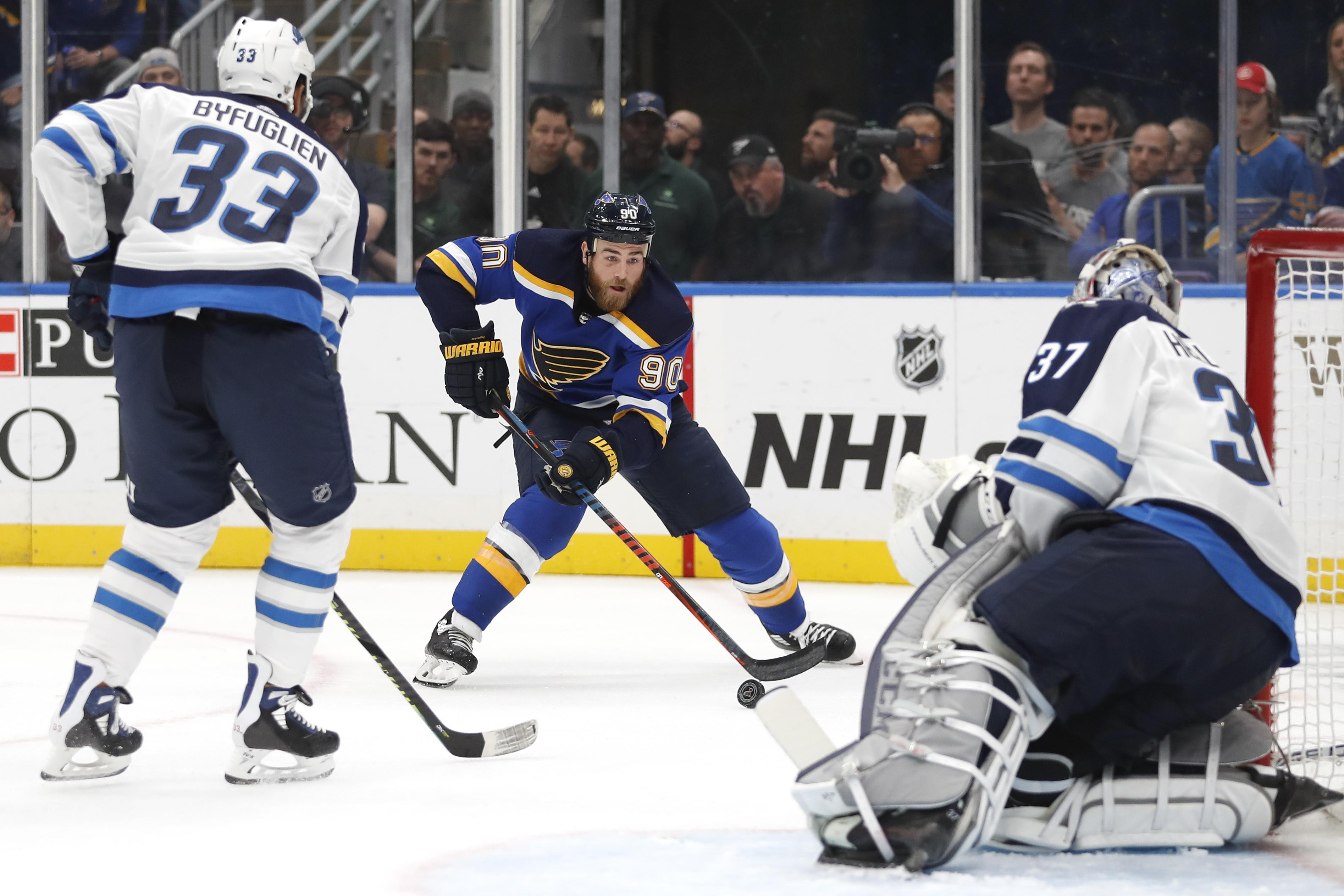 9b957e3aa12c Ryan O'Reilly's luck turns, and so do Blues' fortunes | The ...