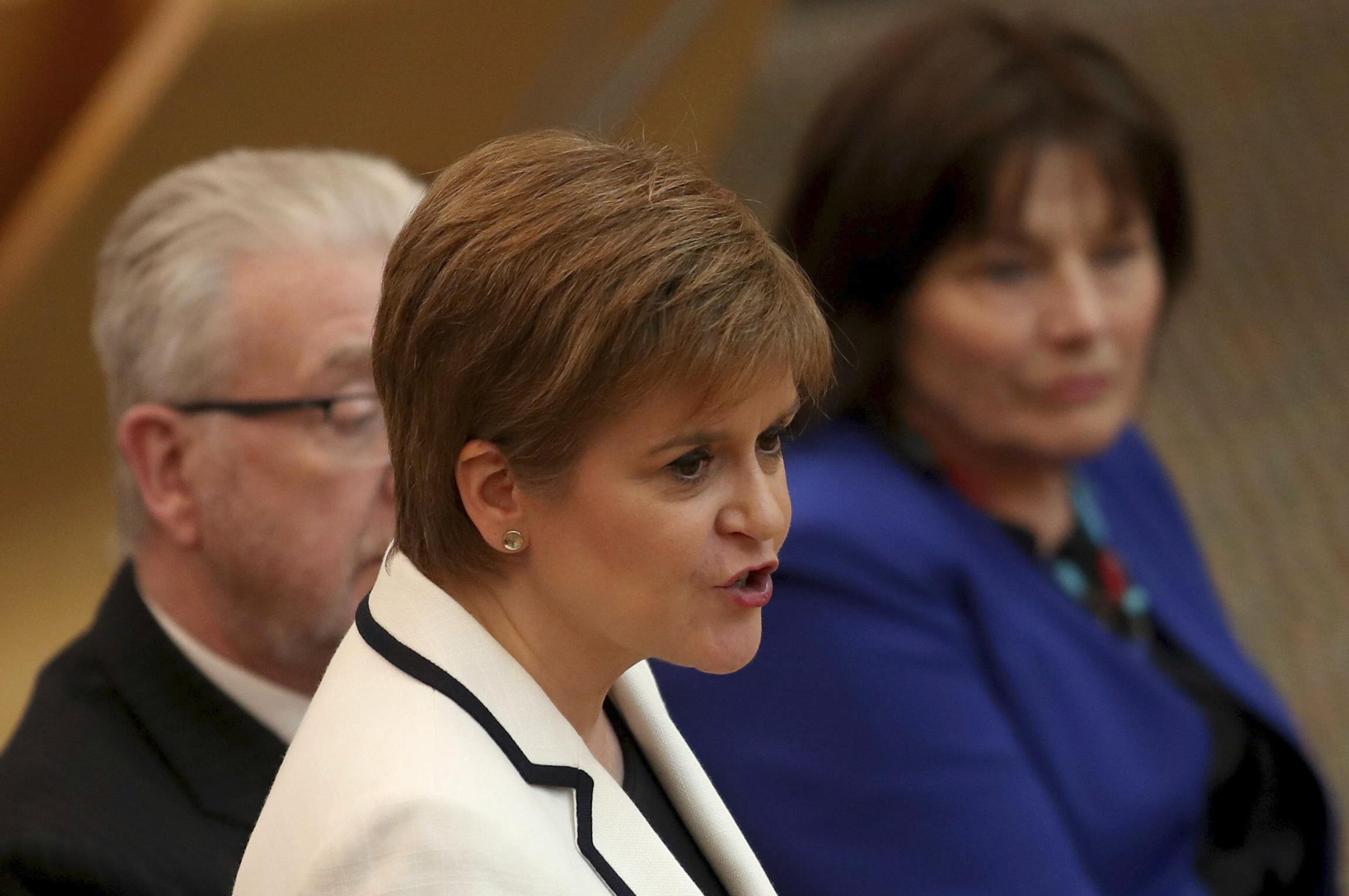 Scottish leader aims to hold new independence vote by 2021