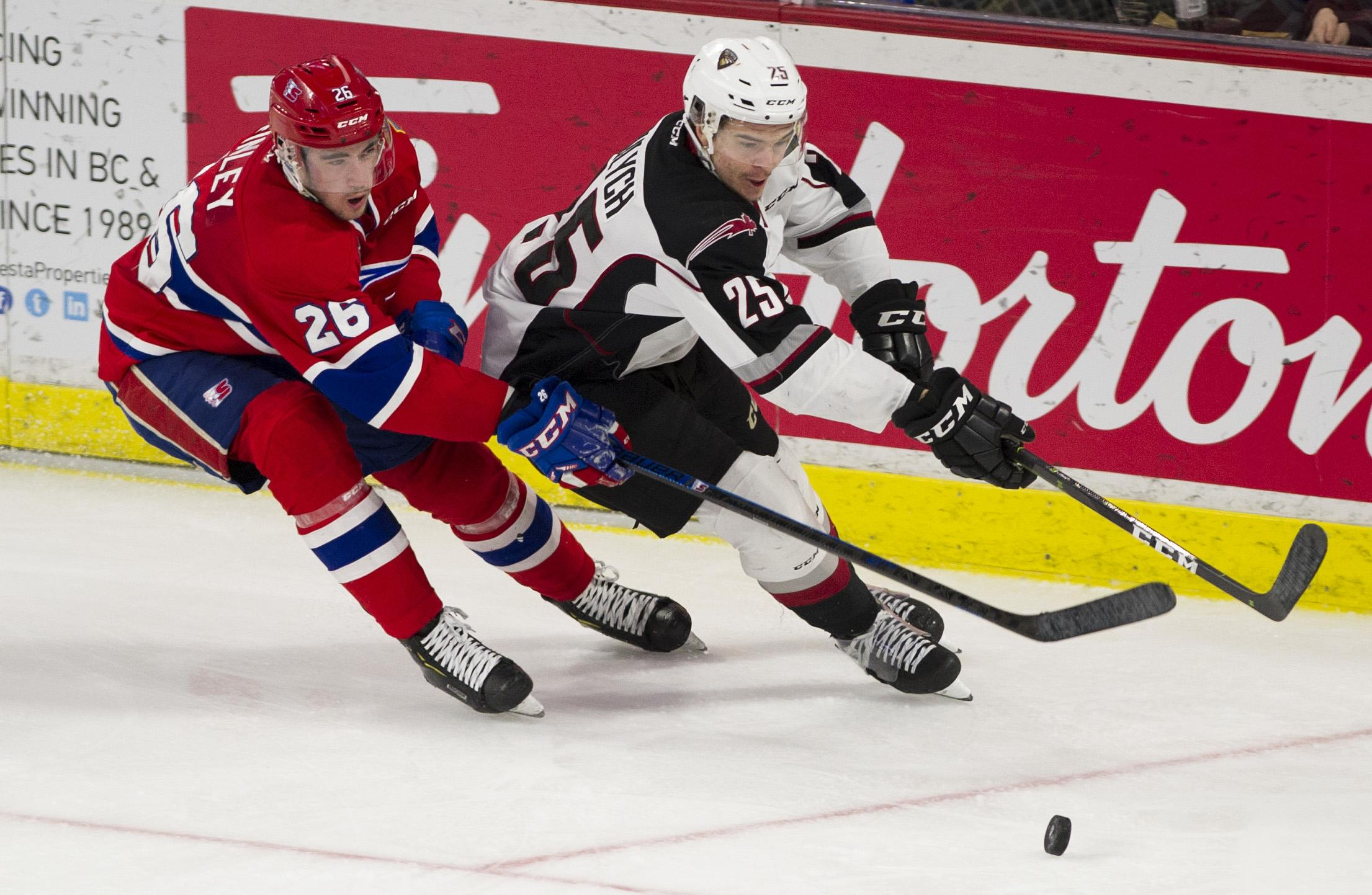 Comeback Falls Short As Spokane Chiefs Ousted From Whl Playoffs