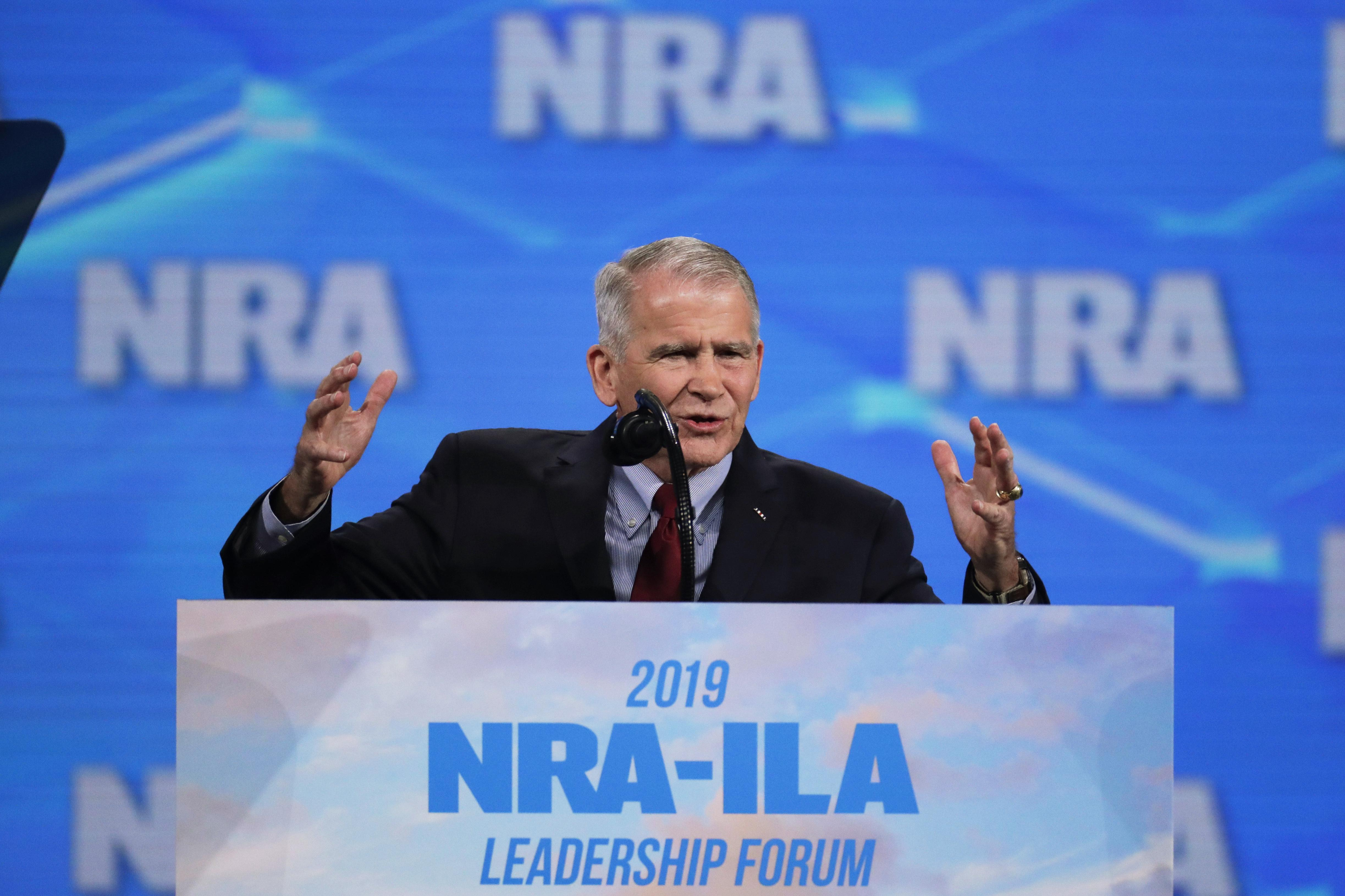 Oliver North out as NRA president after leadership dispute ...