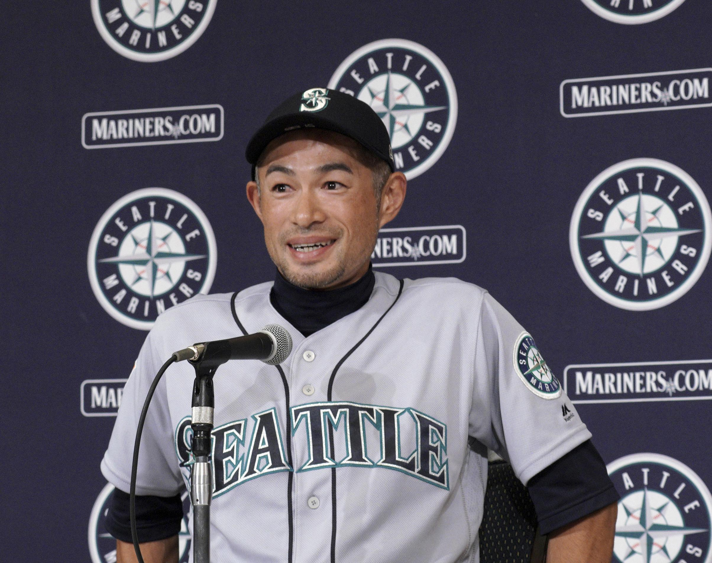 designer fashion 8d118 a711f Ichiro Suzuki back with Mariners as special assistant | The ...