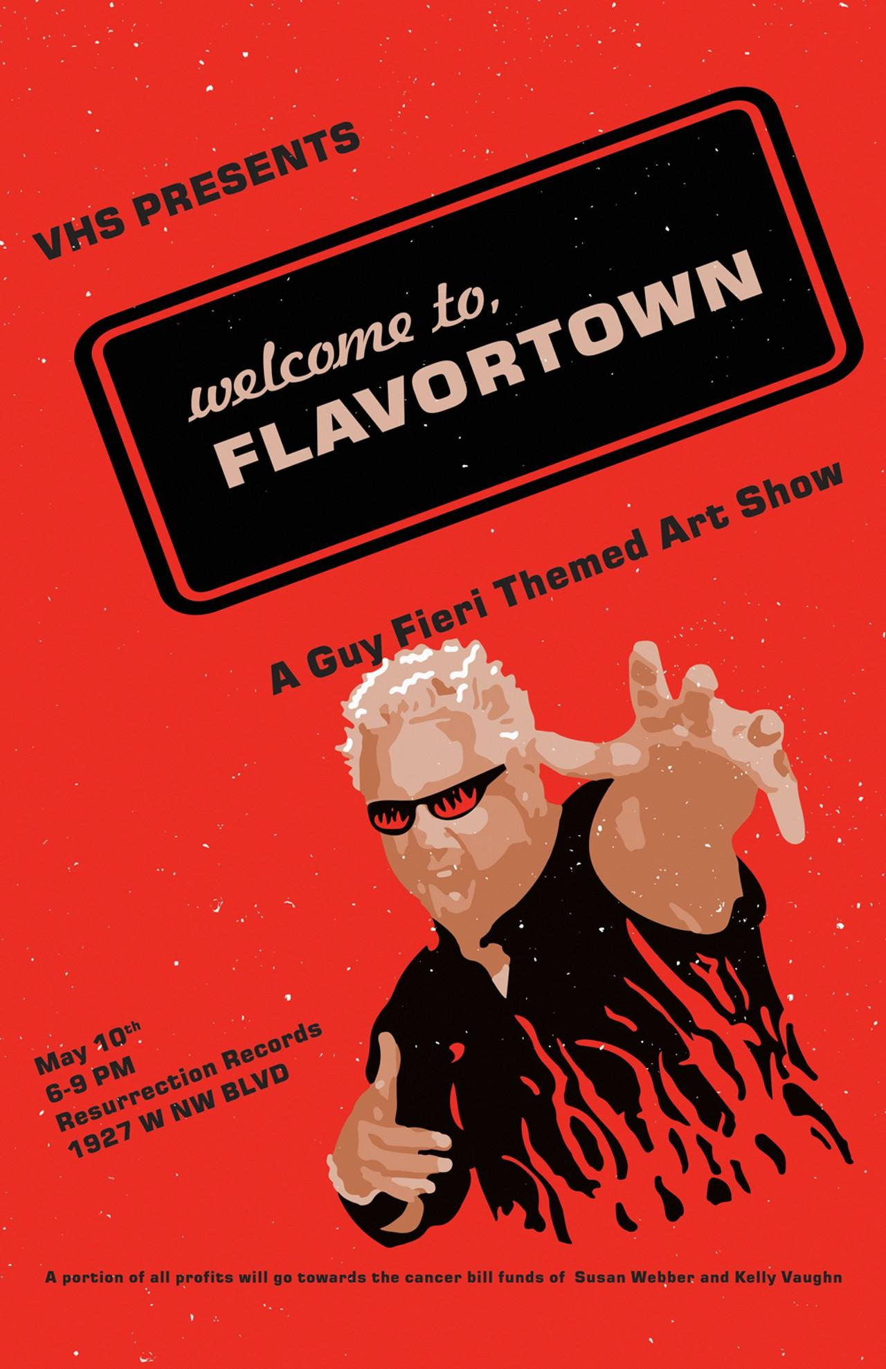 It's just a photo of Striking Guy Fieri Drawing