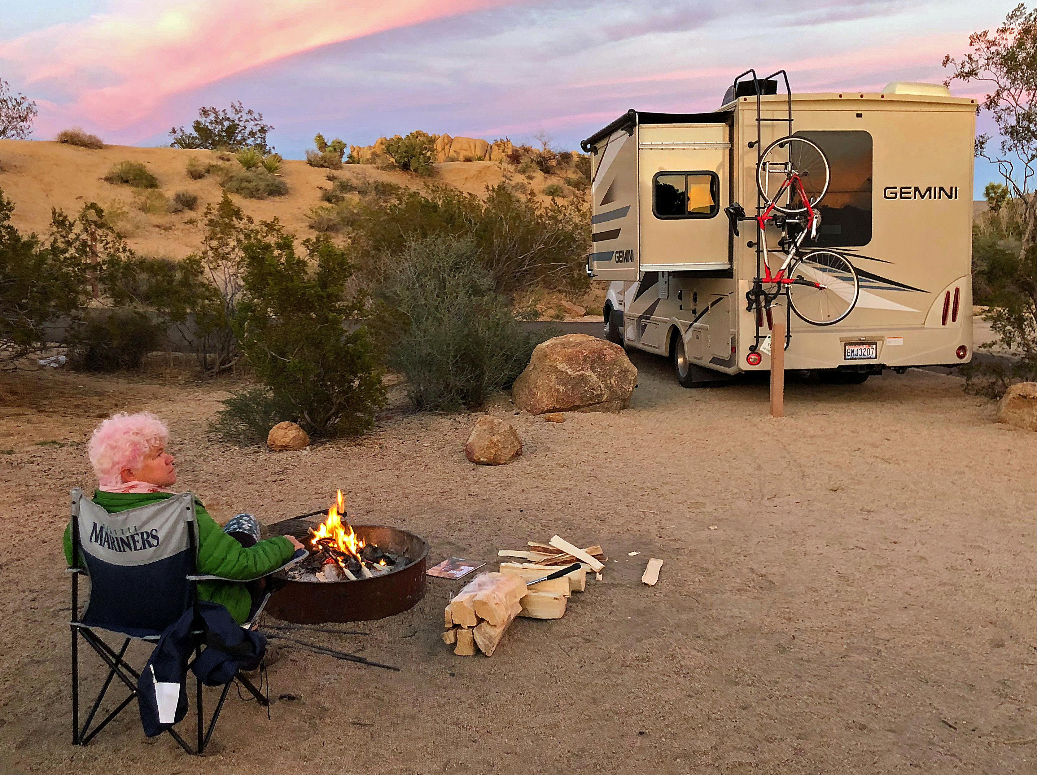 Happy campers: National parks offer scenic, cheap vacation