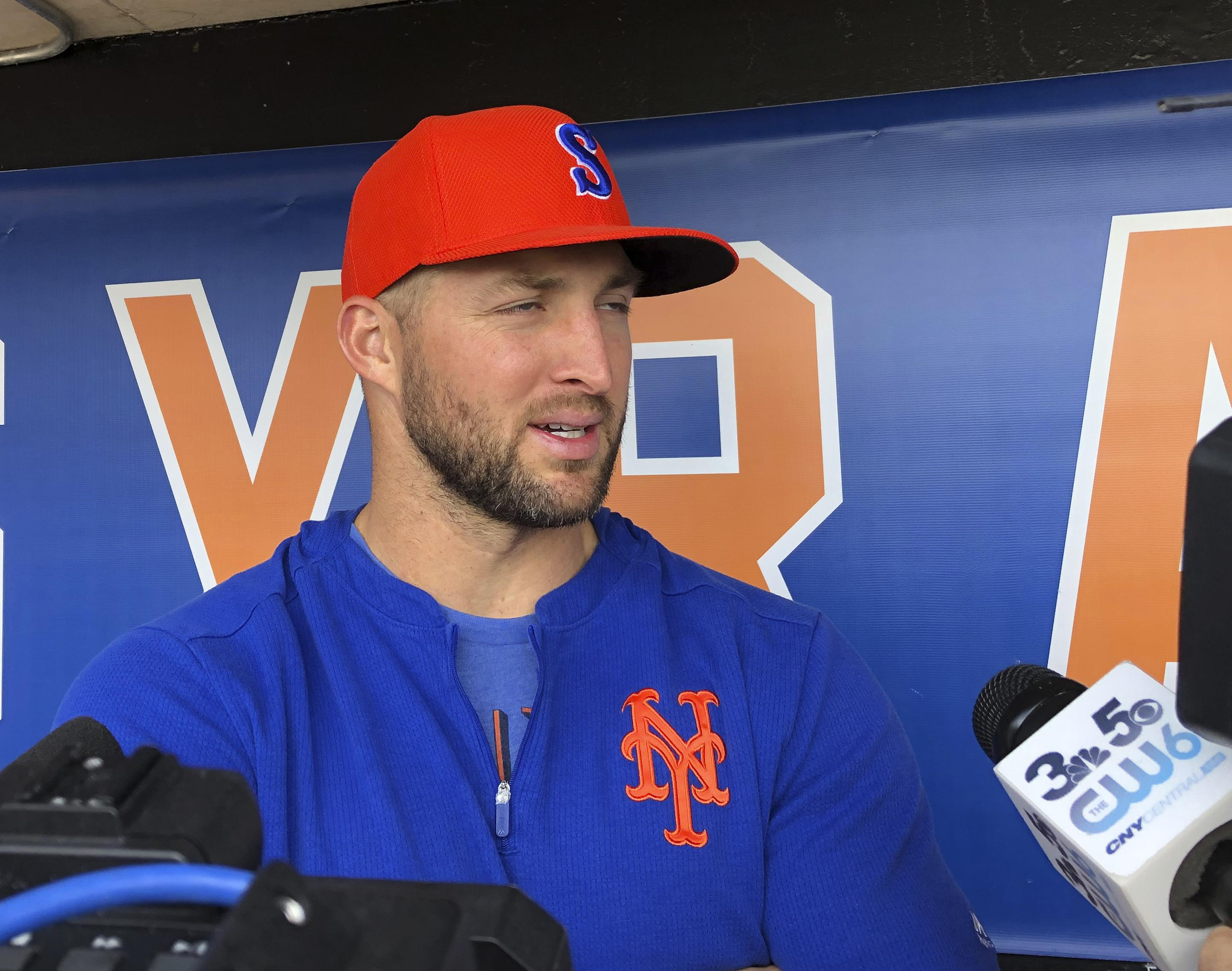 Tim Tebow struggling in Triple-A