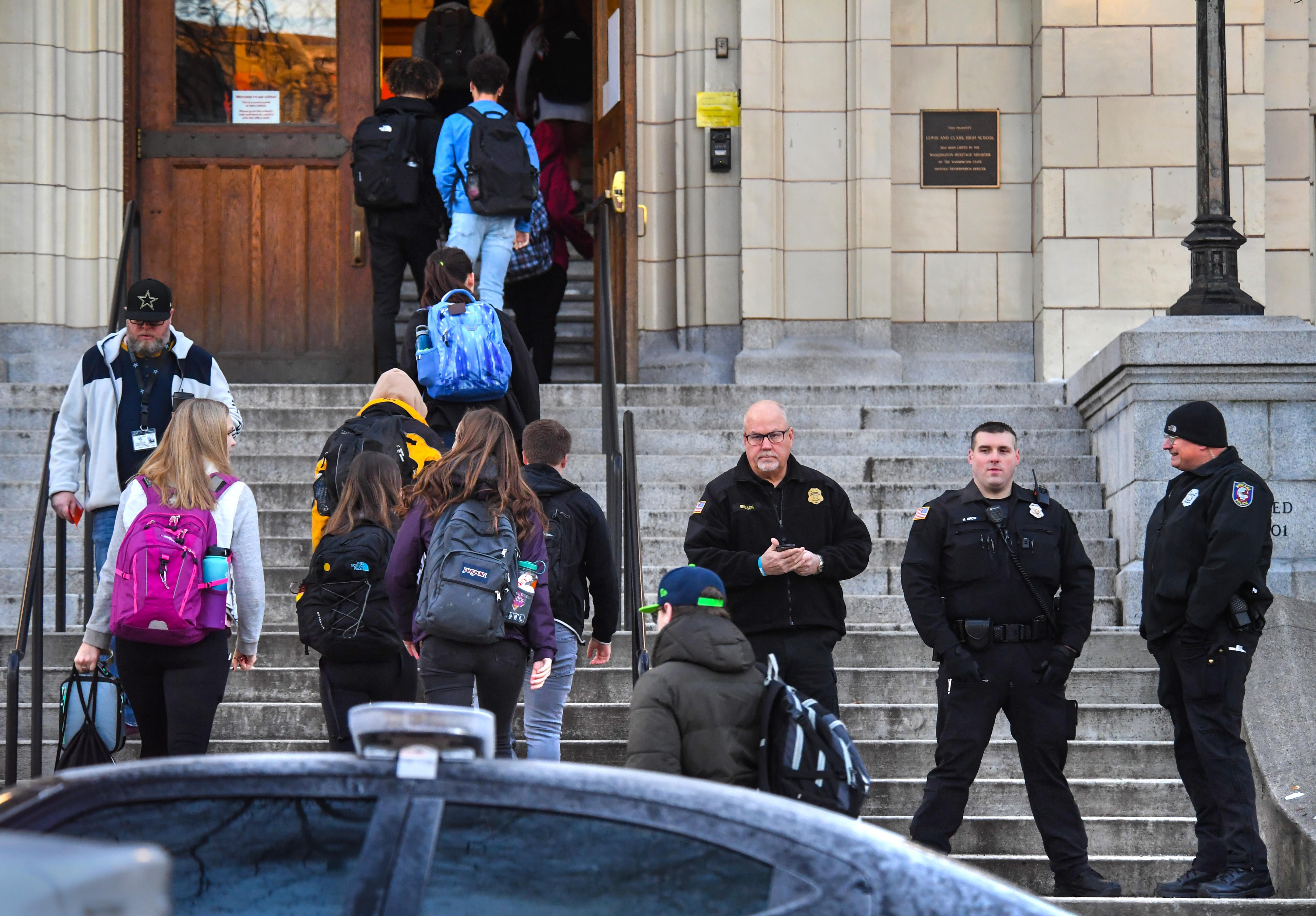 Spokane school board punts on issue of arming school