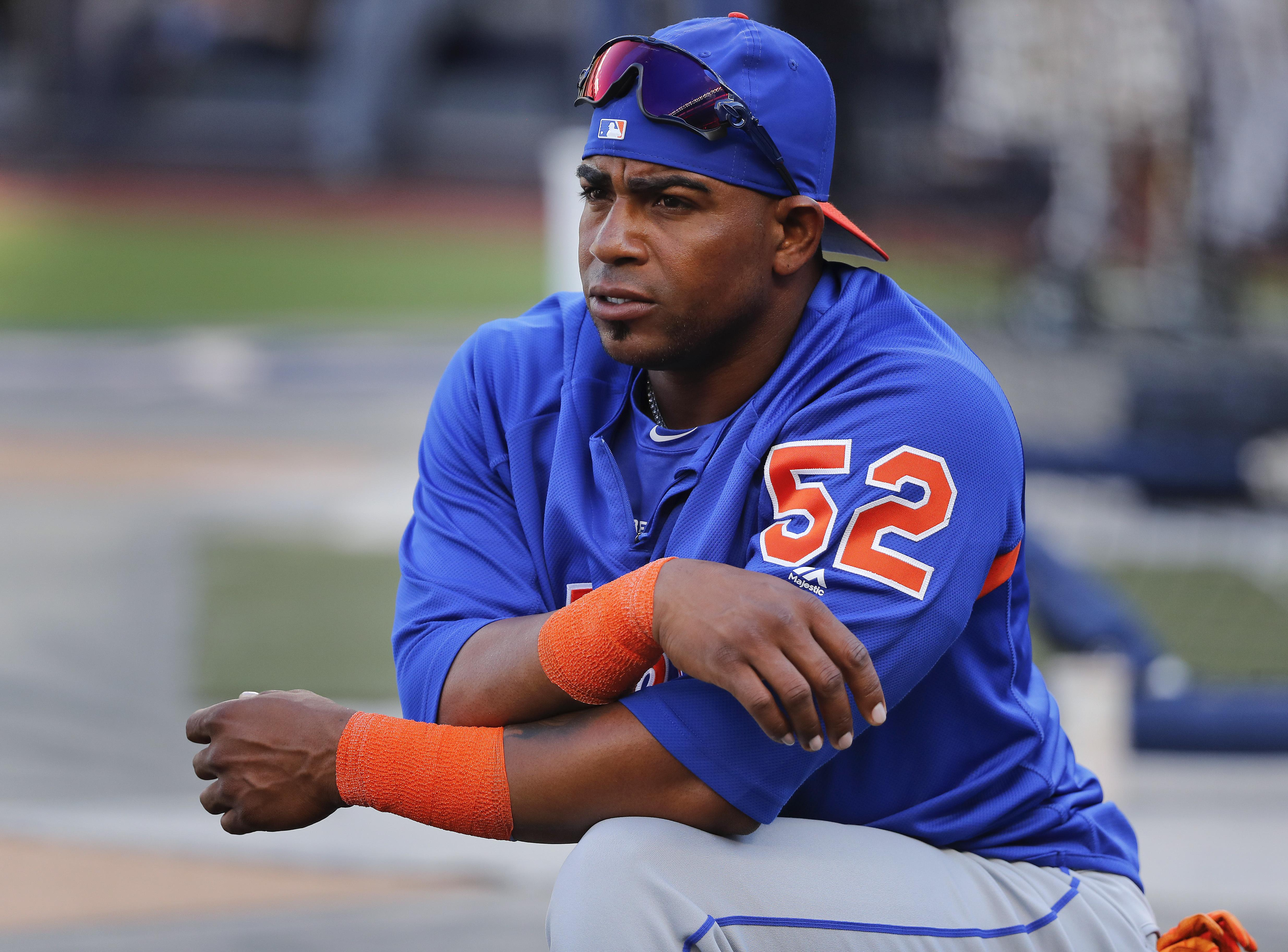 new styles d78ae e186f Mets' Yoenis Cespedes has ankle surgery, expected to miss ...