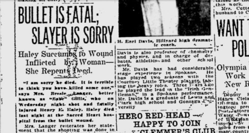 100 years ago in Spokane: Witnesses back up landlady who