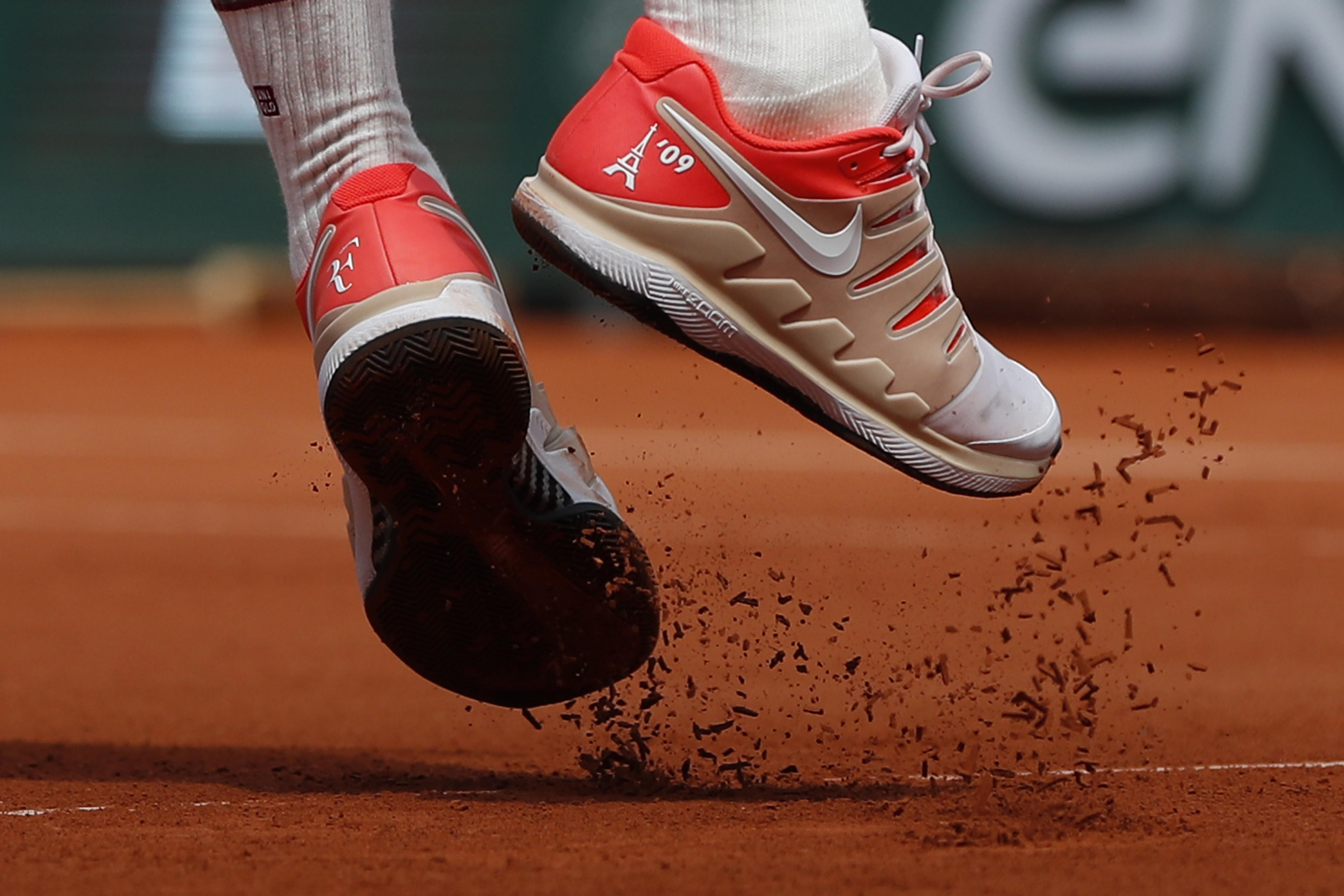 high quality materials special discount fresh styles Back on tour in Paris, Roger Federer keeping an eye on the ...