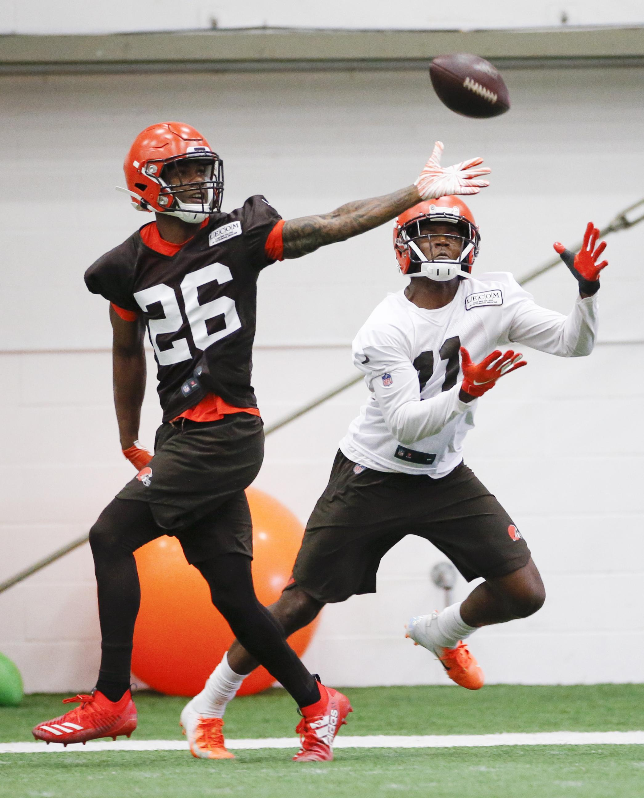 reputable site 79132 3610b Browns rookie Greedy Williams eager to learn from Odell ...