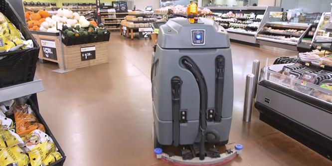 As Walmart turns to robots, it's the human workers who feel like