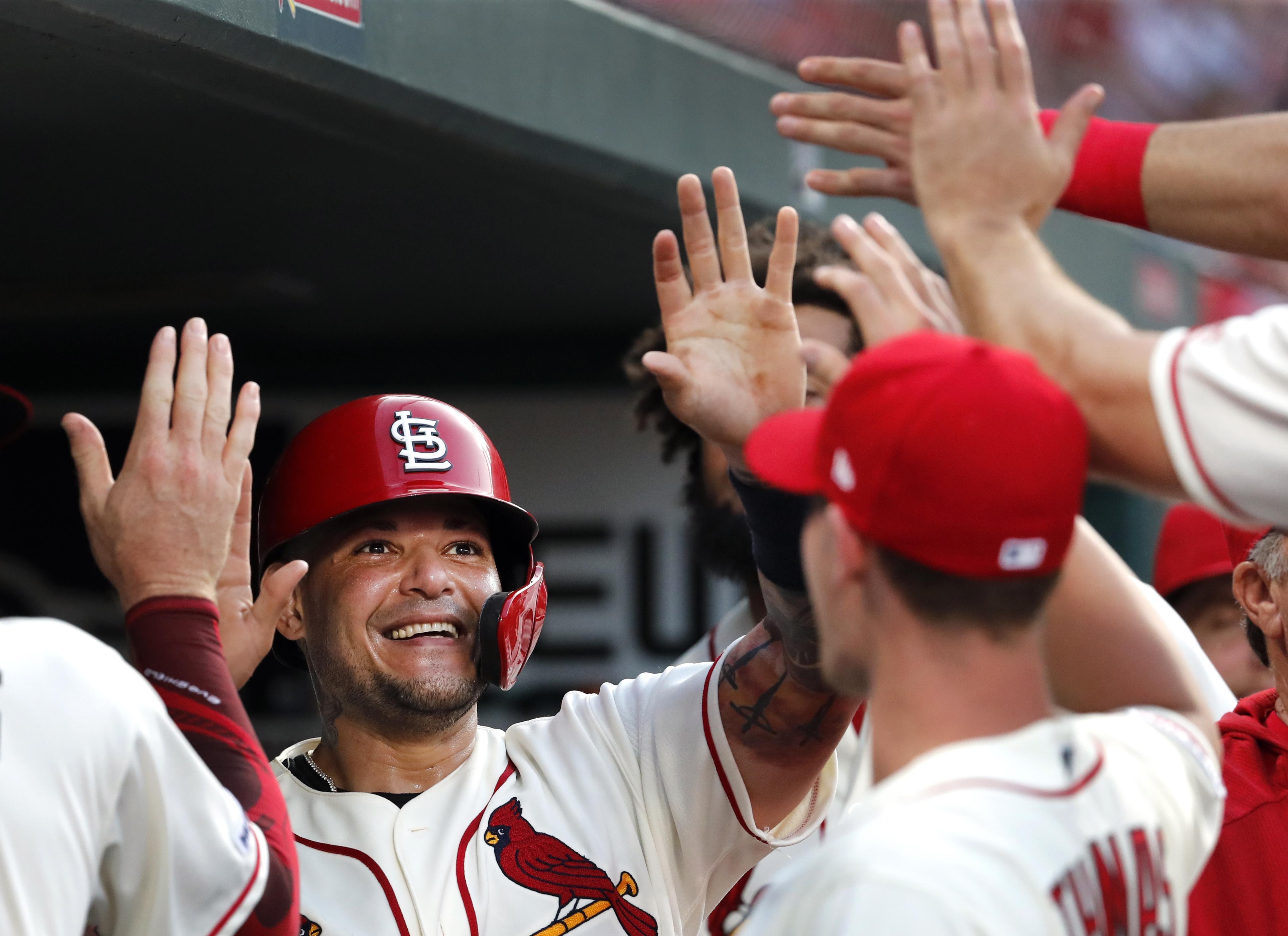 Cardinals activate Yadier Molina, put Jose Martinez on