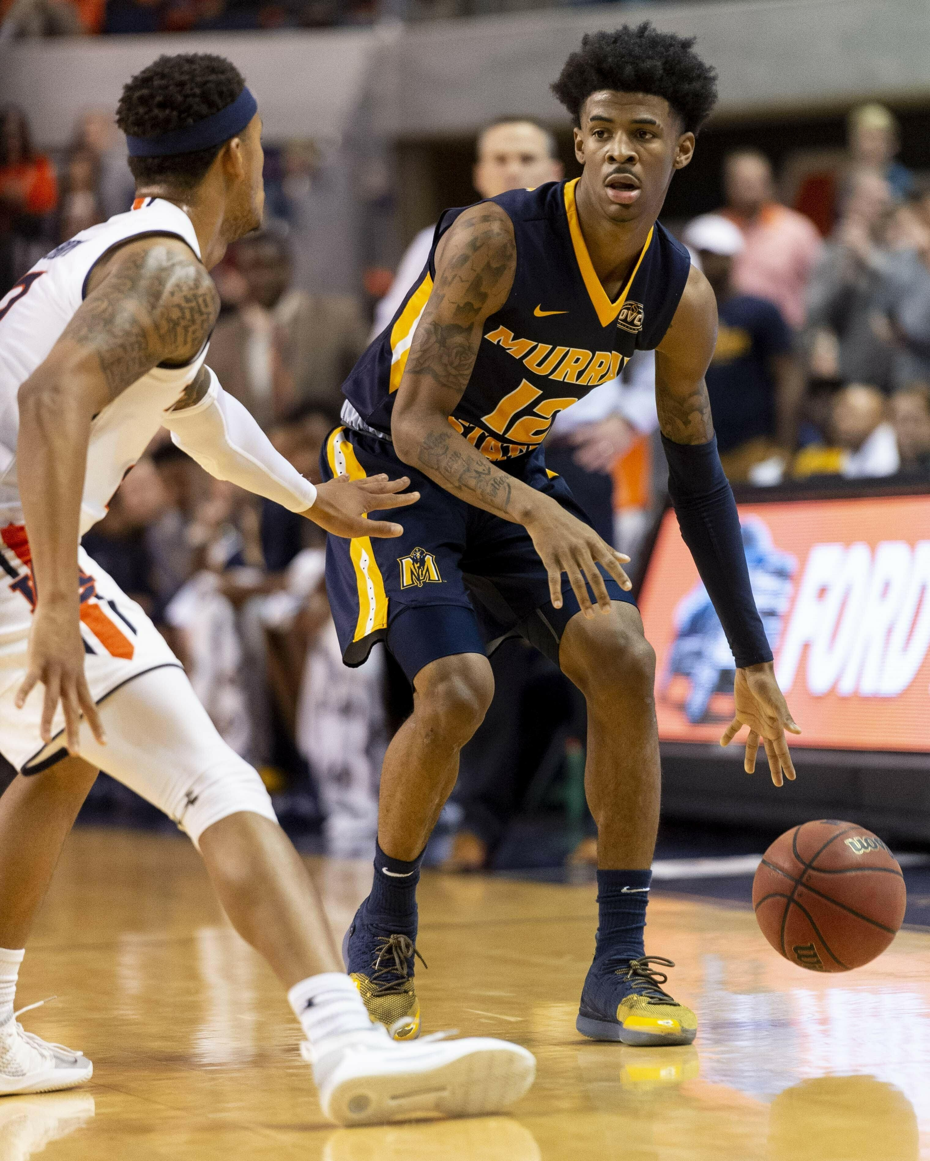 Ja Morant Darius Garland Coby White Top List Of Point